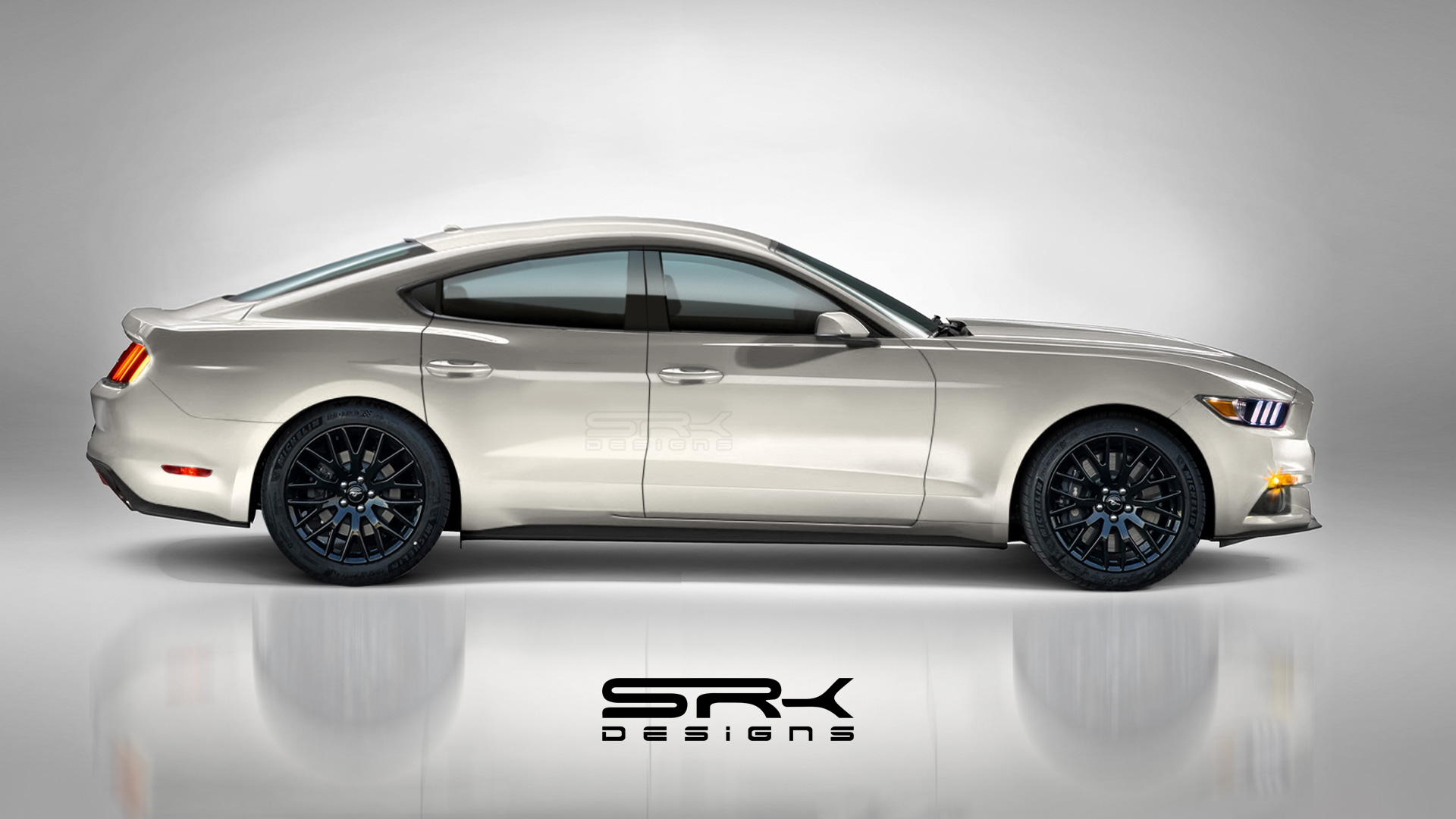 Ford-Mustang-4-door-Sedan