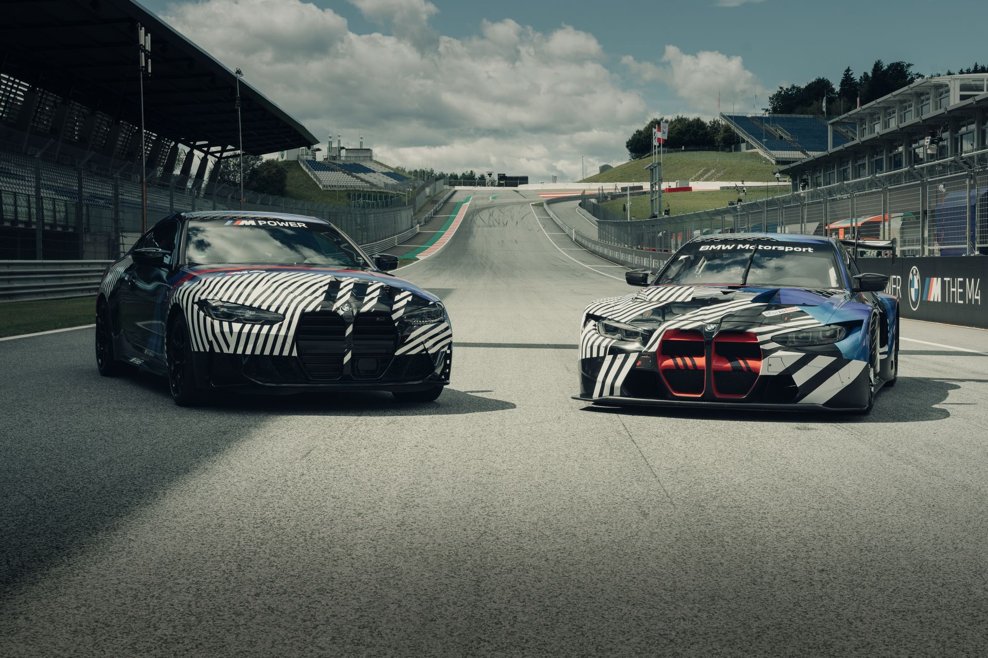 New-BMW-M4-Coupe-and-BMW-M4-GT3-prototypes-1
