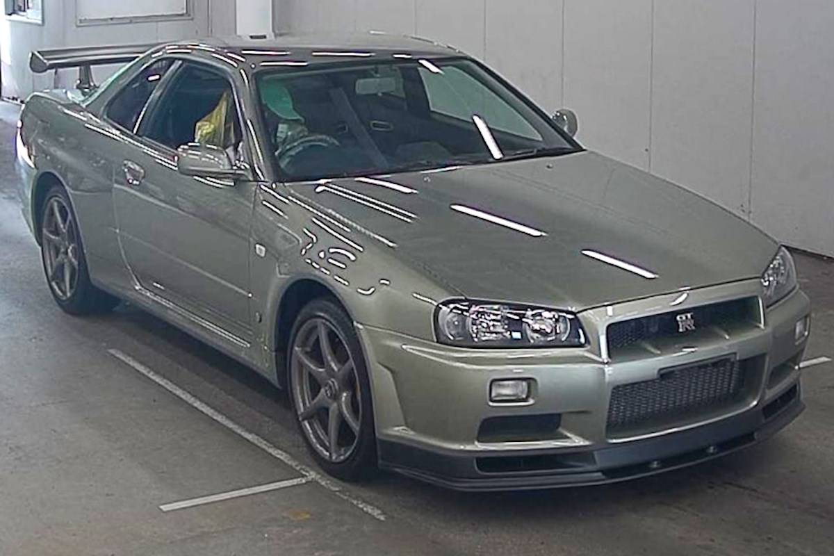 Nissan-R34-GT-R-M-Spec-Nur-auction-1