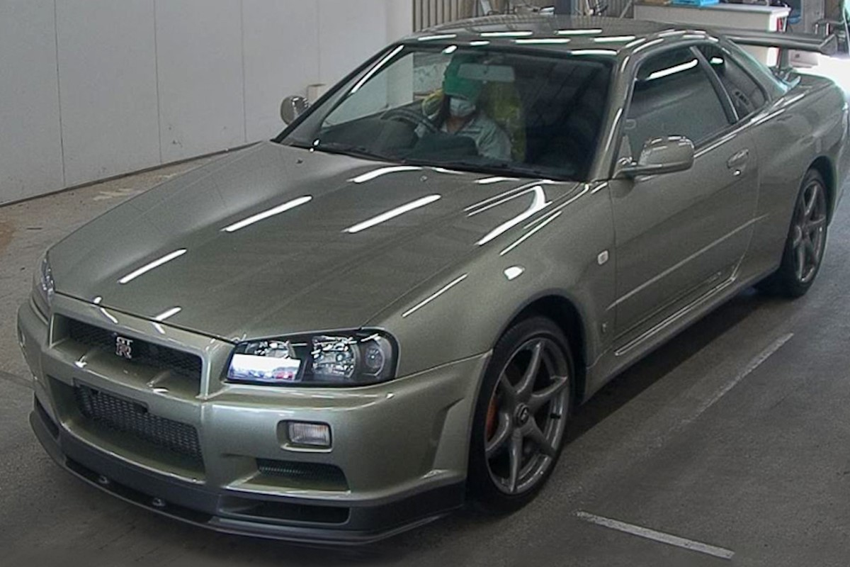Nissan-R34-GT-R-M-Spec-Nur-auction-2