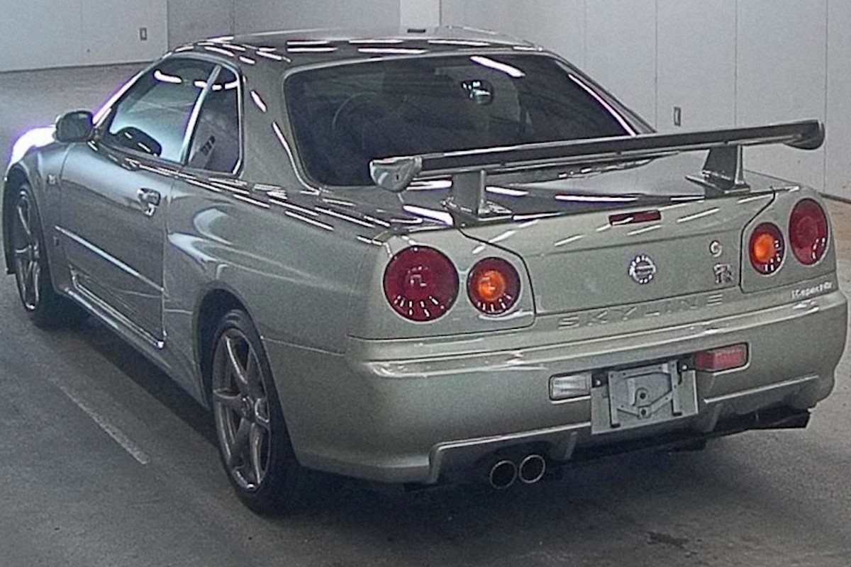 Nissan-R34-GT-R-M-Spec-Nur-auction-4