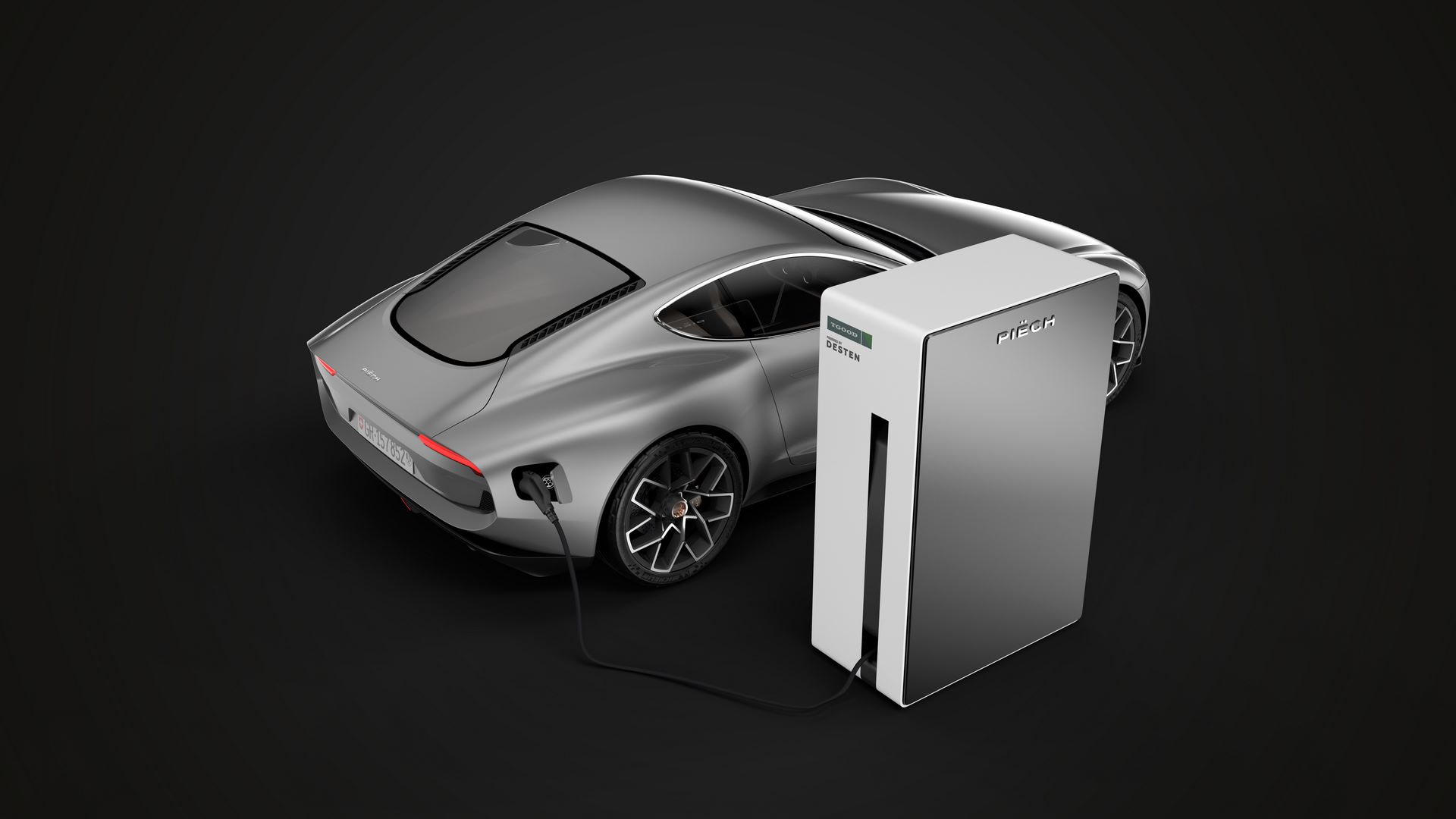 Charging-station-black-background