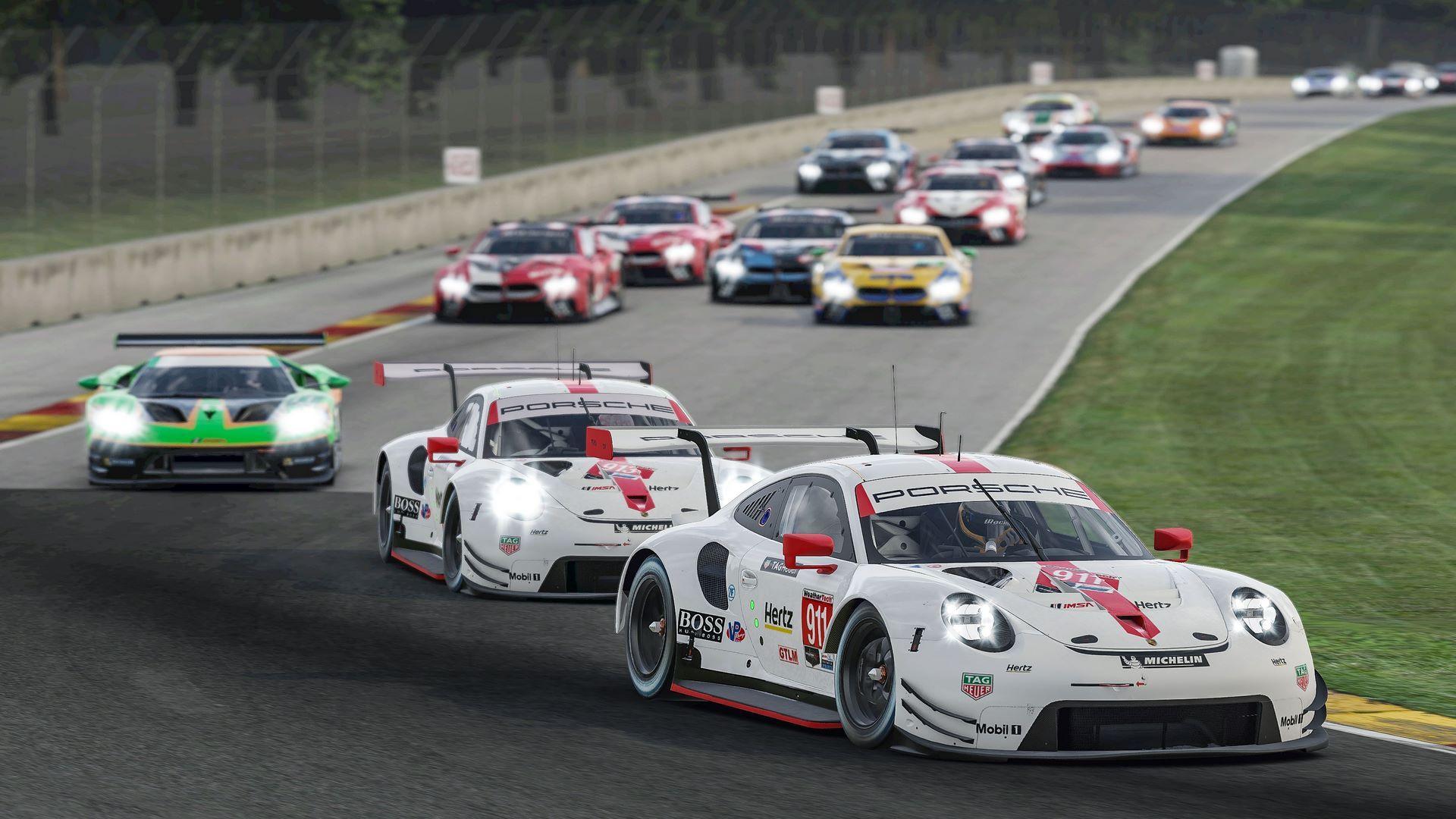 Porsche 911 RSR, Porsche GT Team (#911), Nick Tandy (GB), Porsche Junior (#913), Ayhancan Güven (TR), Start