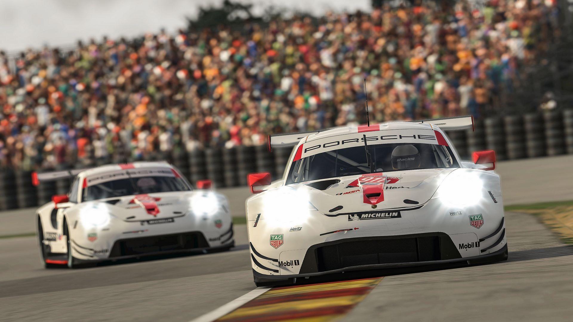 Porsche 911 RSR, Porsche GT Team (#911), Nick Tandy (GB), Porsche Junior (#913), Ayhancan Güven (TR)