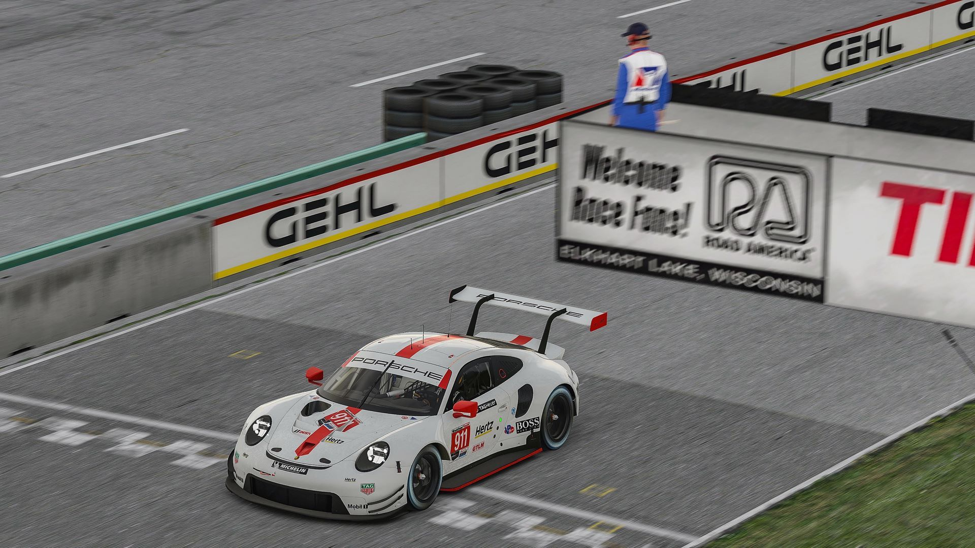 Porsche 911 RSR, Porsche GT Team (#911), Nick Tandy (GB)
