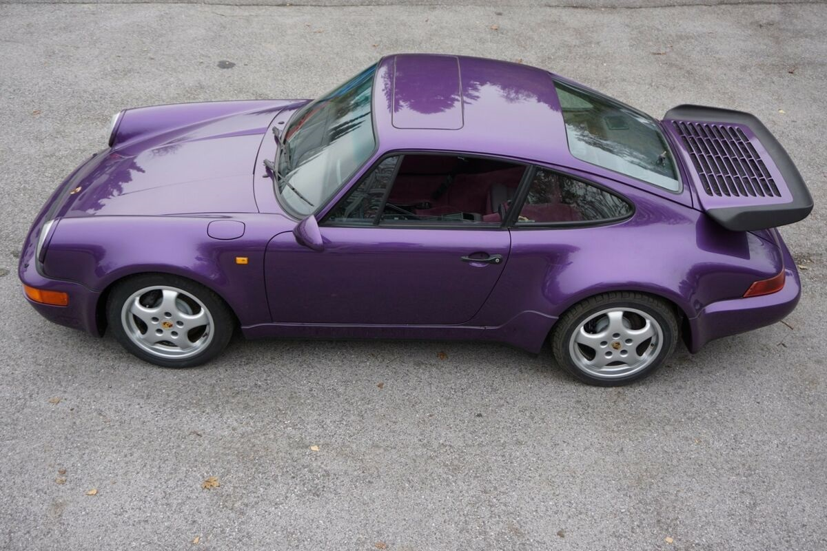Purple-Porsche-911-964-Turbo-1991-2
