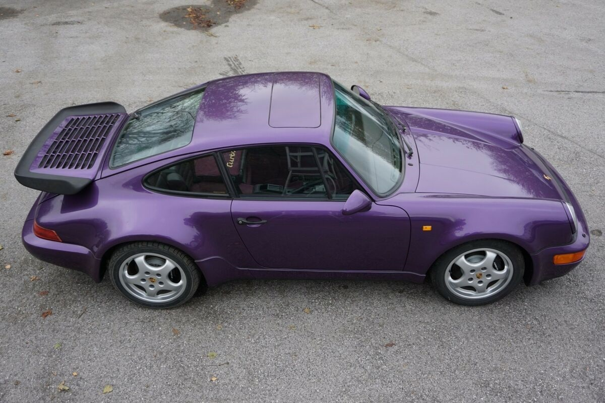 Purple-Porsche-911-964-Turbo-1991-3