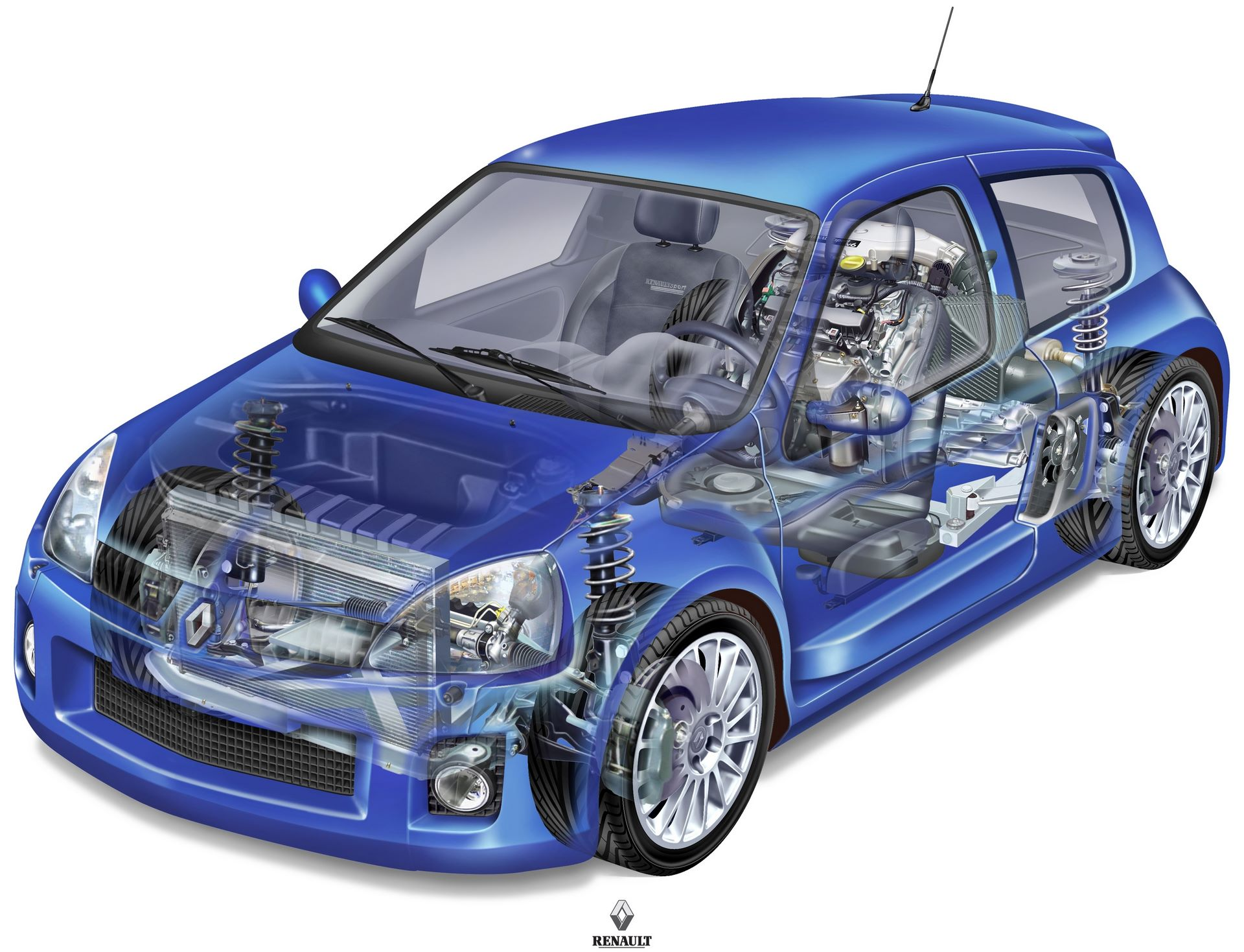 NEW CLIO V6 3.0 24V TECHNICAL DRAWINGS