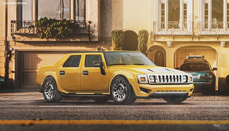 Hummer-Sedan