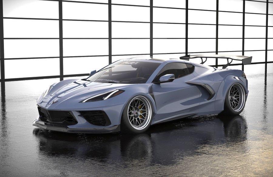 Streethunter-Chevrolet-Corvette-C8-Widebody-1
