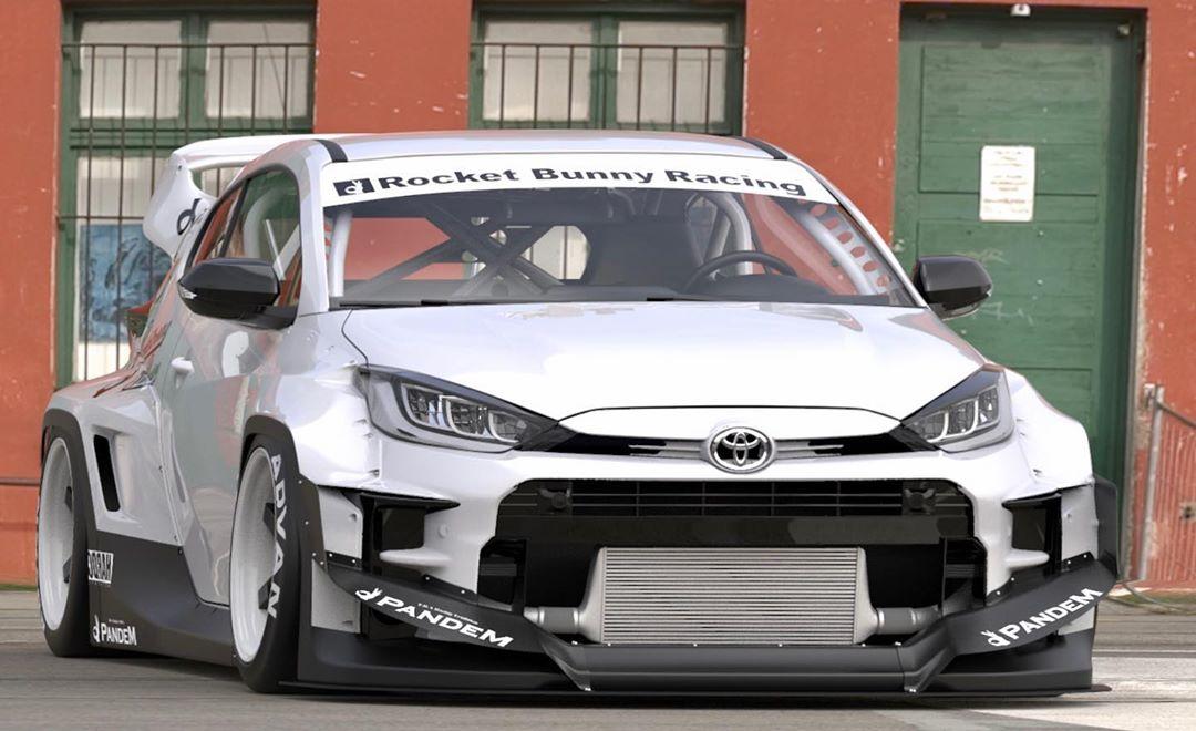 Toyota-GR-Yaris-Pandem-bodykit-2