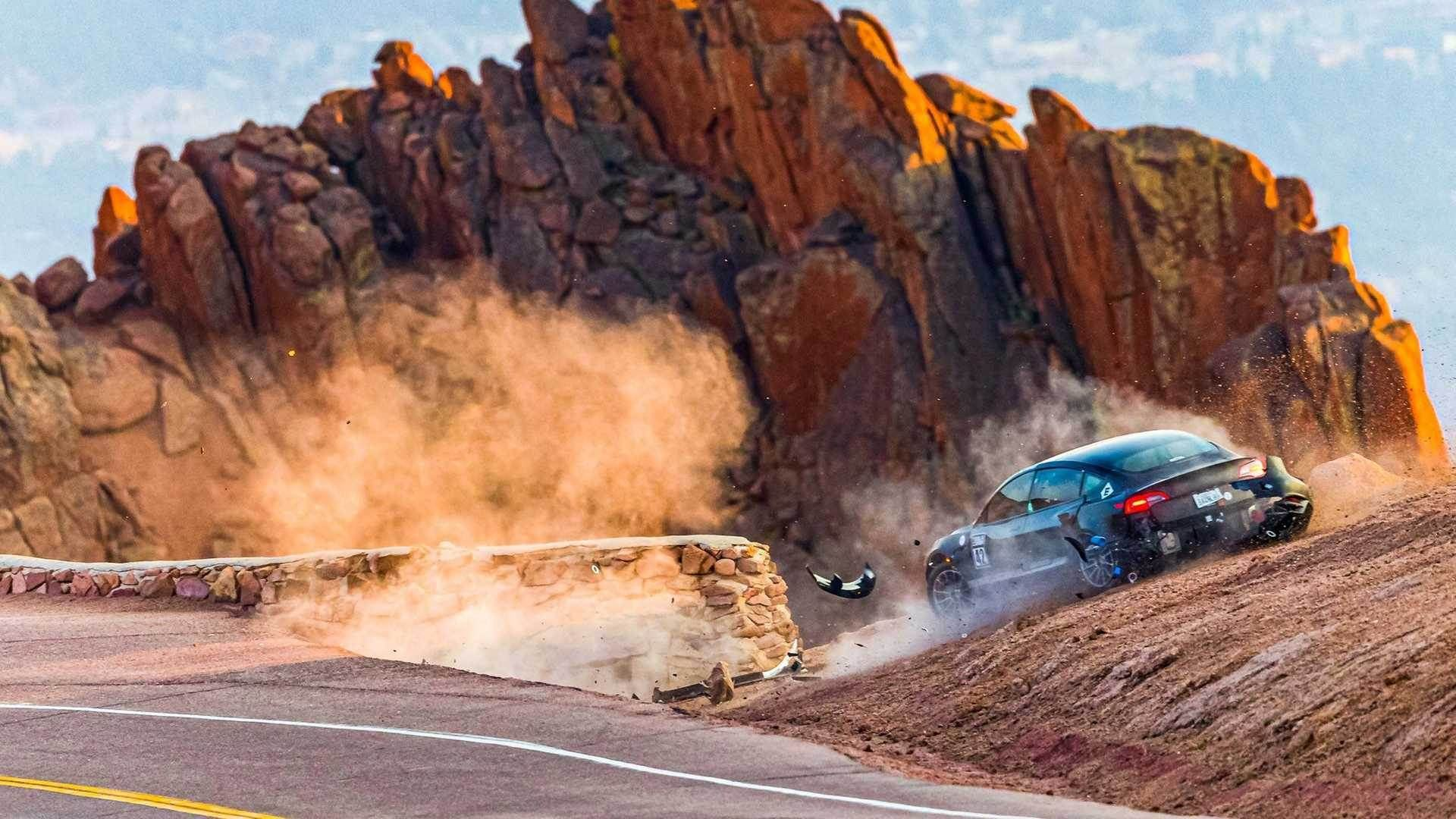 Unplugged_Performance_Tesla_Model_3_Crash_Pikes_Peak_0001