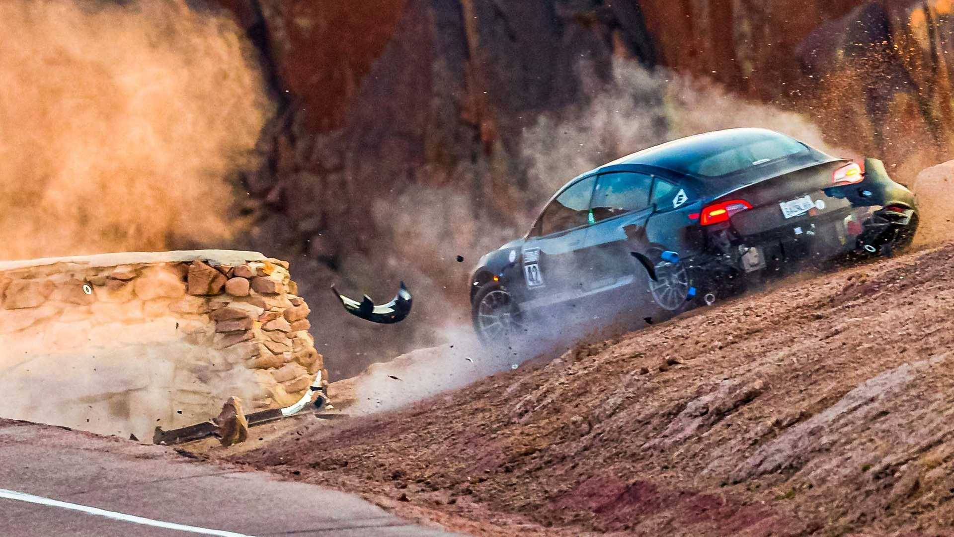 Unplugged_Performance_Tesla_Model_3_Crash_Pikes_Peak_0002