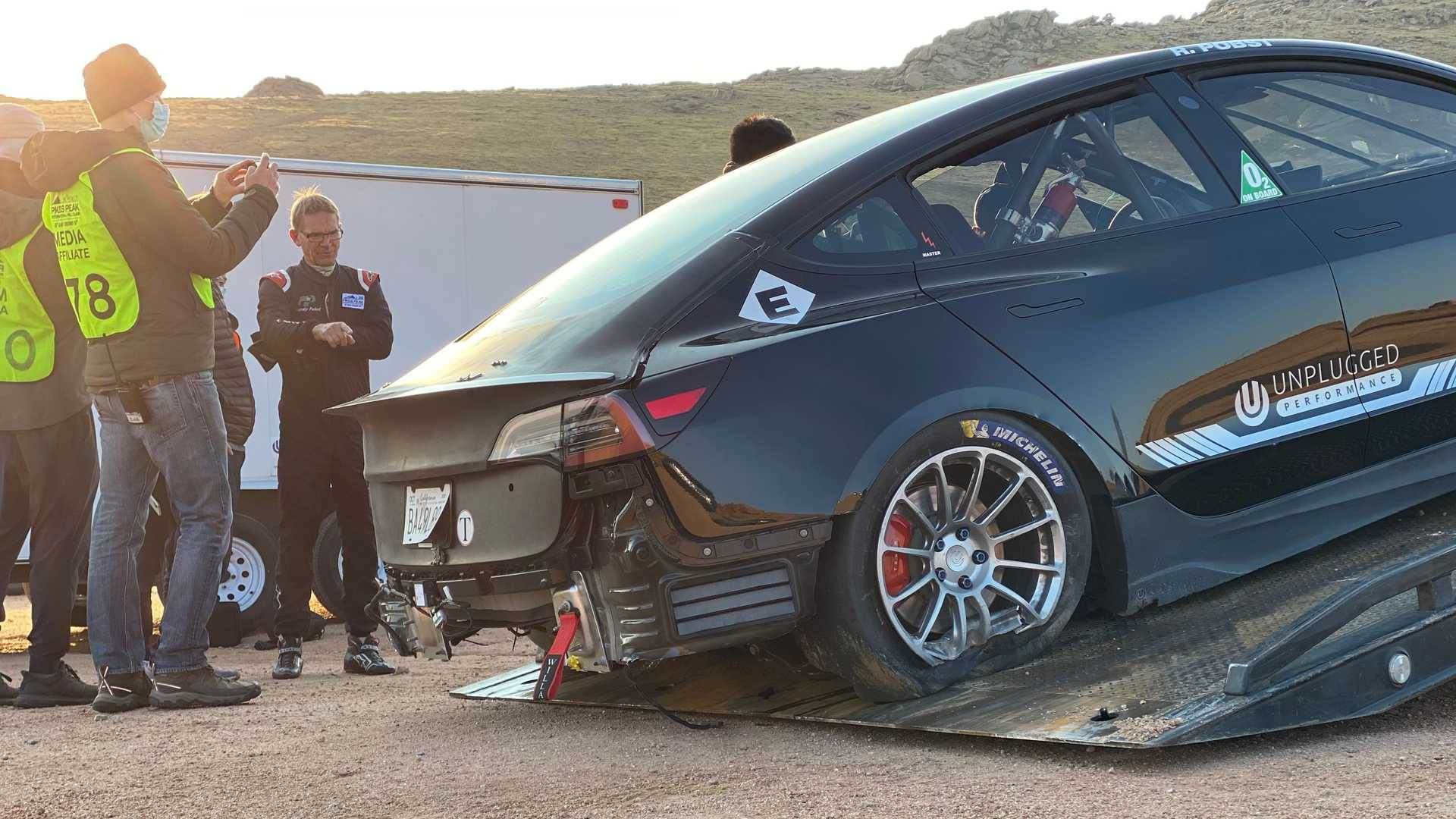 Unplugged_Performance_Tesla_Model_3_Crash_Pikes_Peak_0004