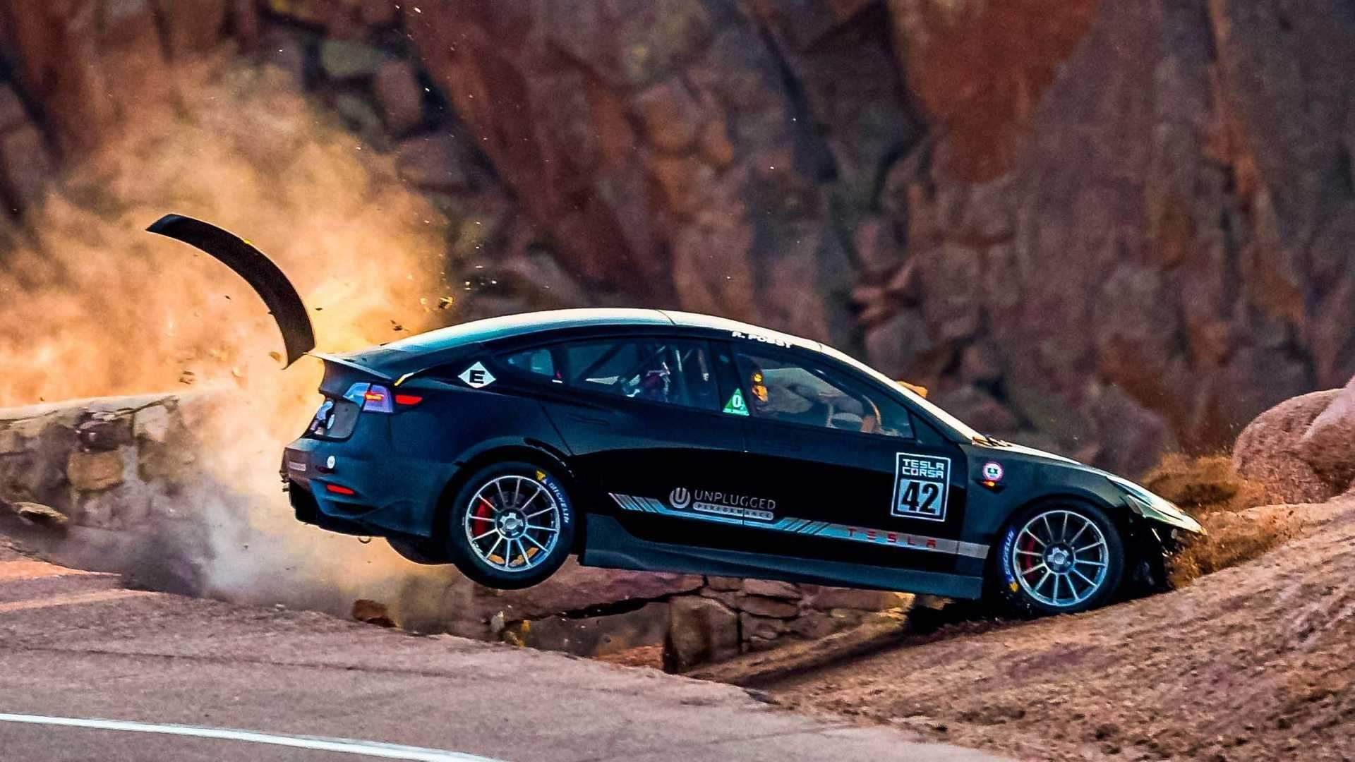 Unplugged_Performance_Tesla_Model_3_Crash_Pikes_Peak_0007