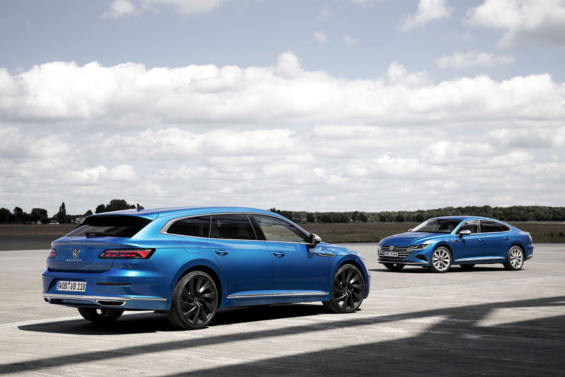 Volkswagen Arteon eHYBRID Elegance and Arteon Shooting Brake Elegance