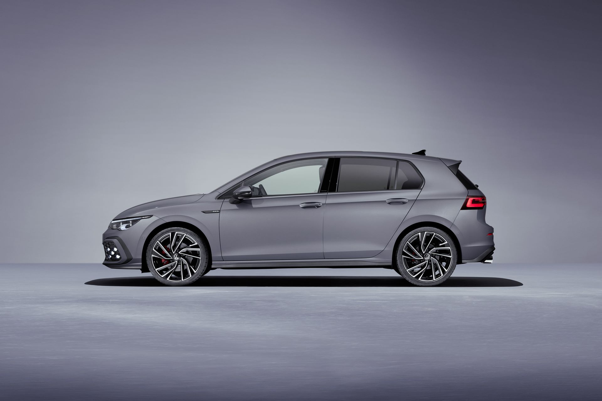 The new Volkswagen Golf GTD