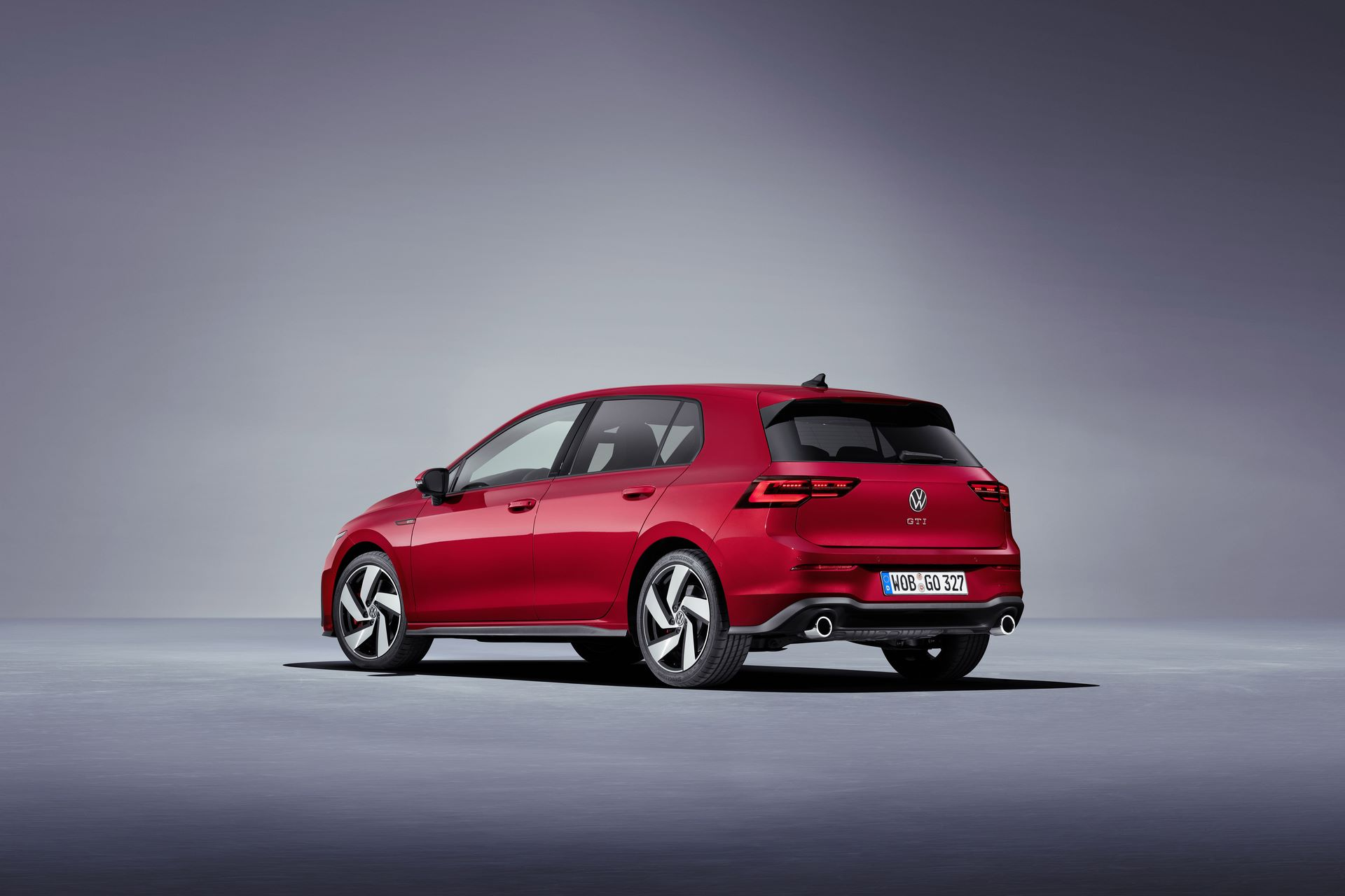 The new Volkswagen Golf GTI