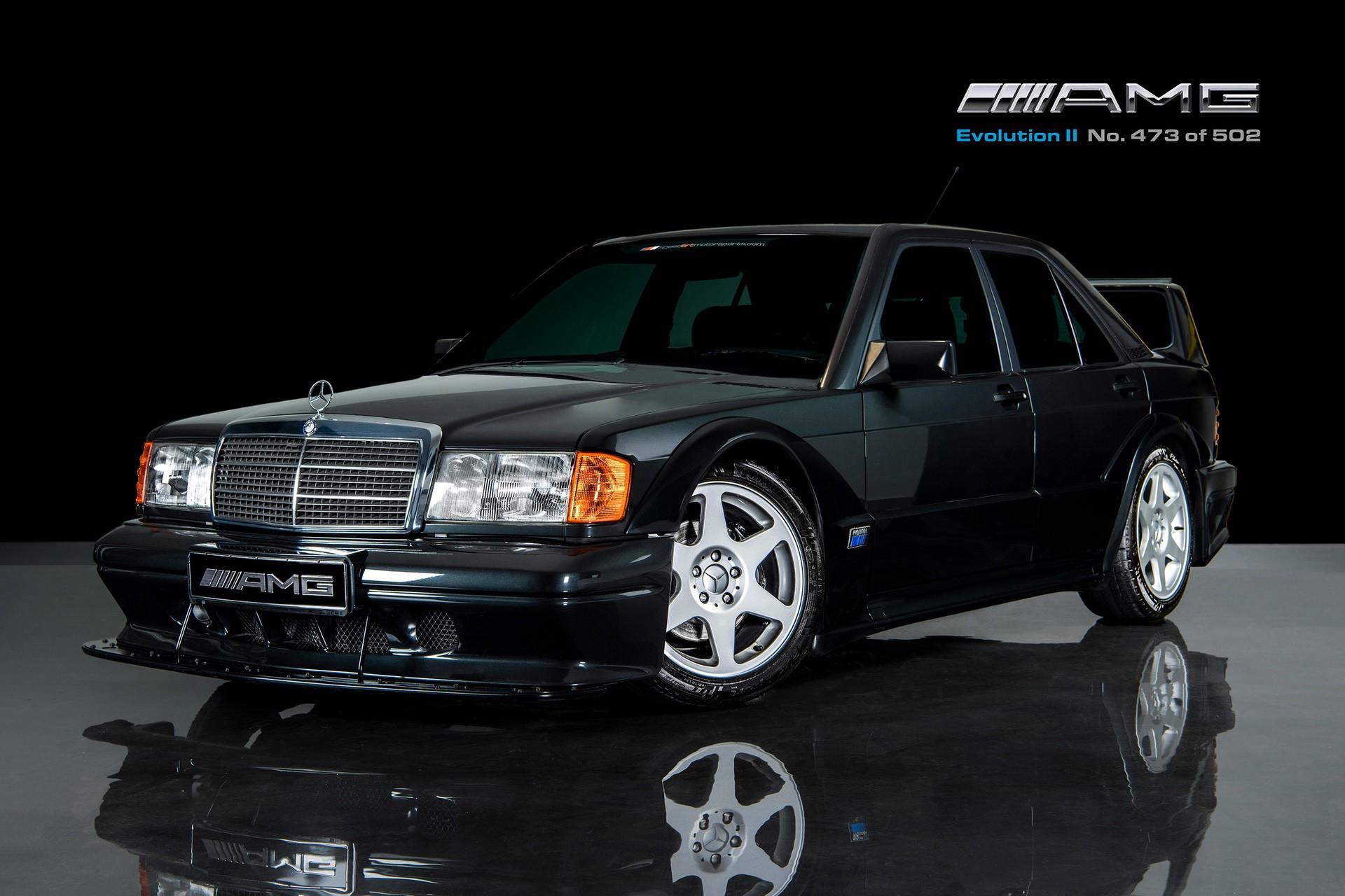 1990_Mercedes_Benz_190E_25-16_Evolution_II_sales_0000