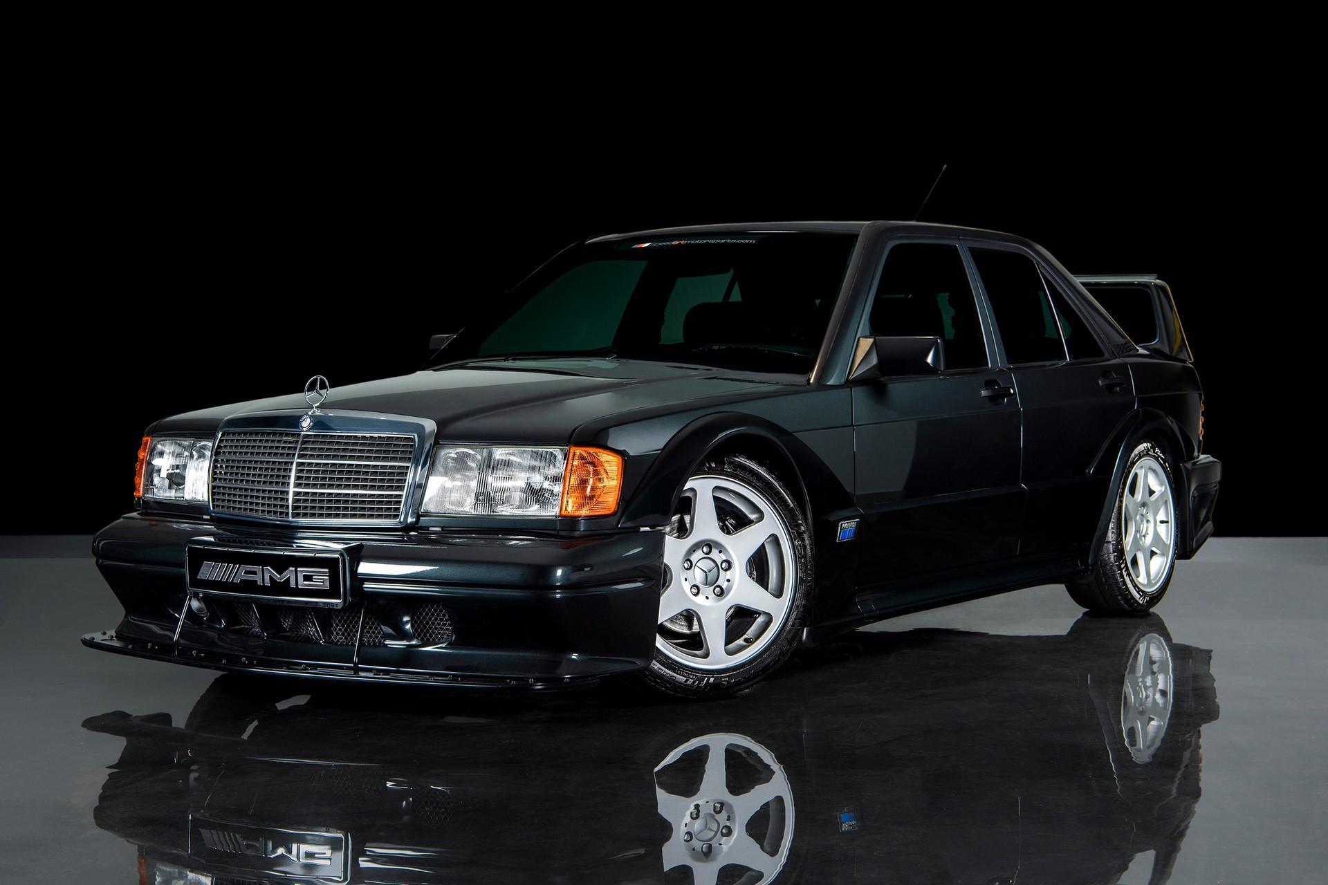 1990_Mercedes_Benz_190E_25-16_Evolution_II_sales_0009