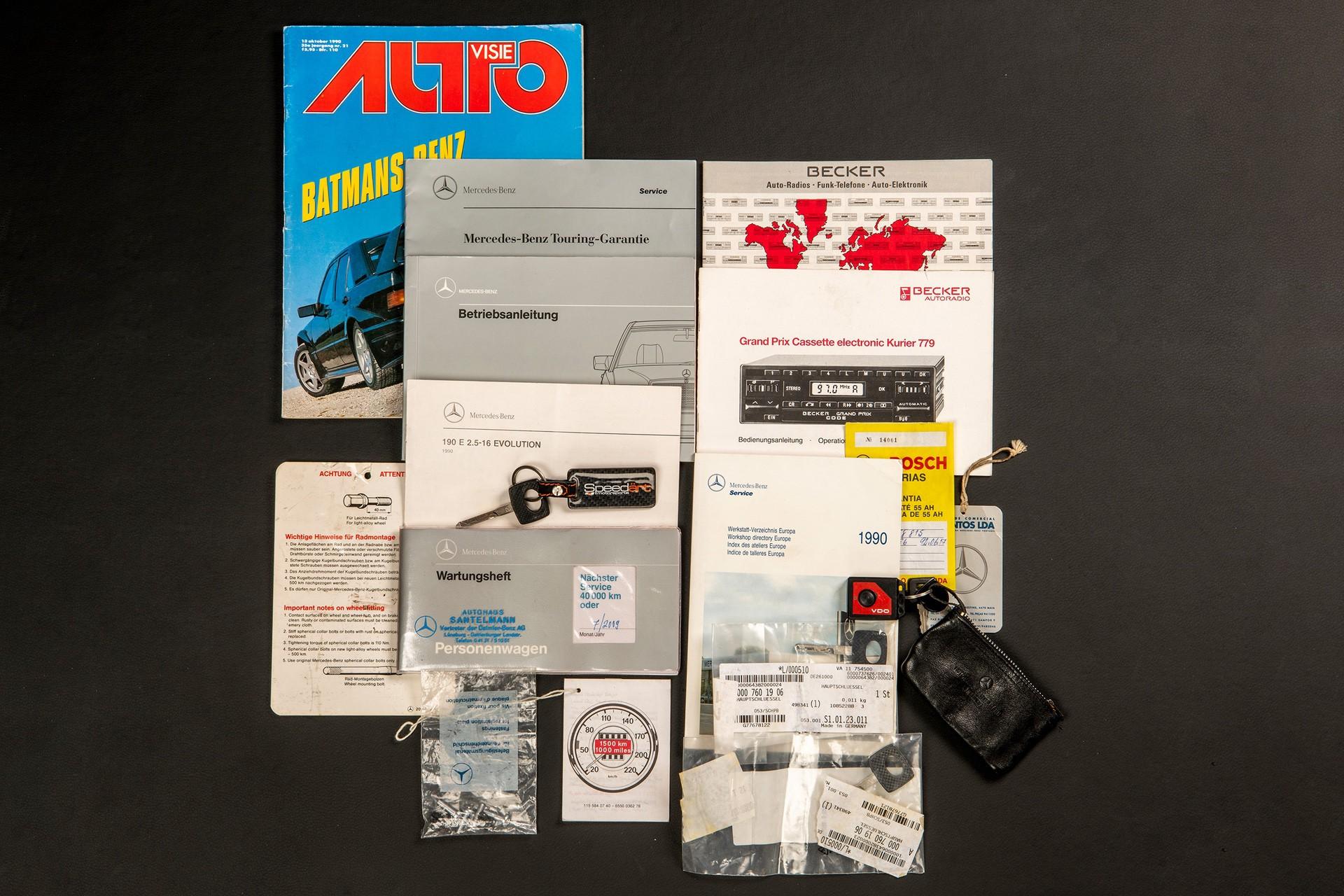 1990_Mercedes_Benz_190E_25-16_Evolution_II_sales_0051