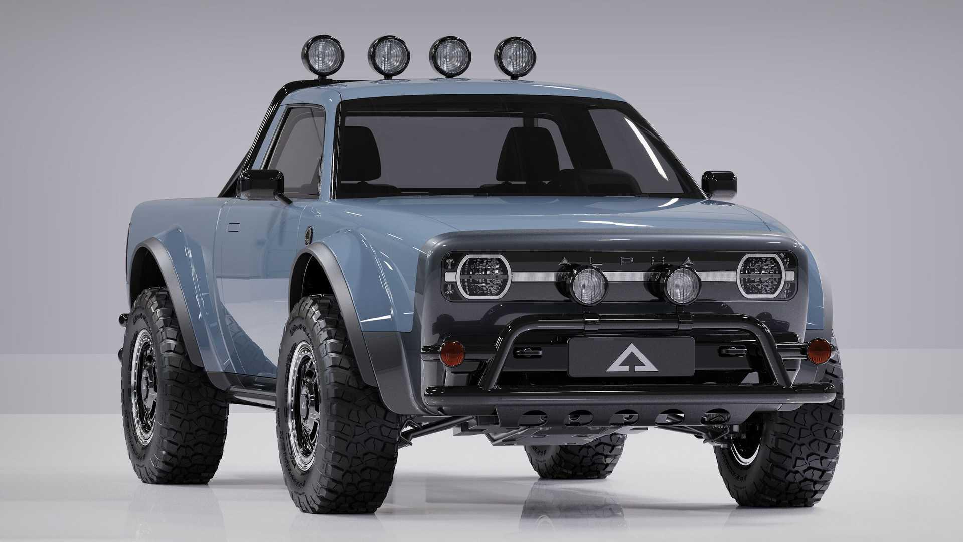 Alpha-Wolf-Compact-EV-Pickup-Truck-1