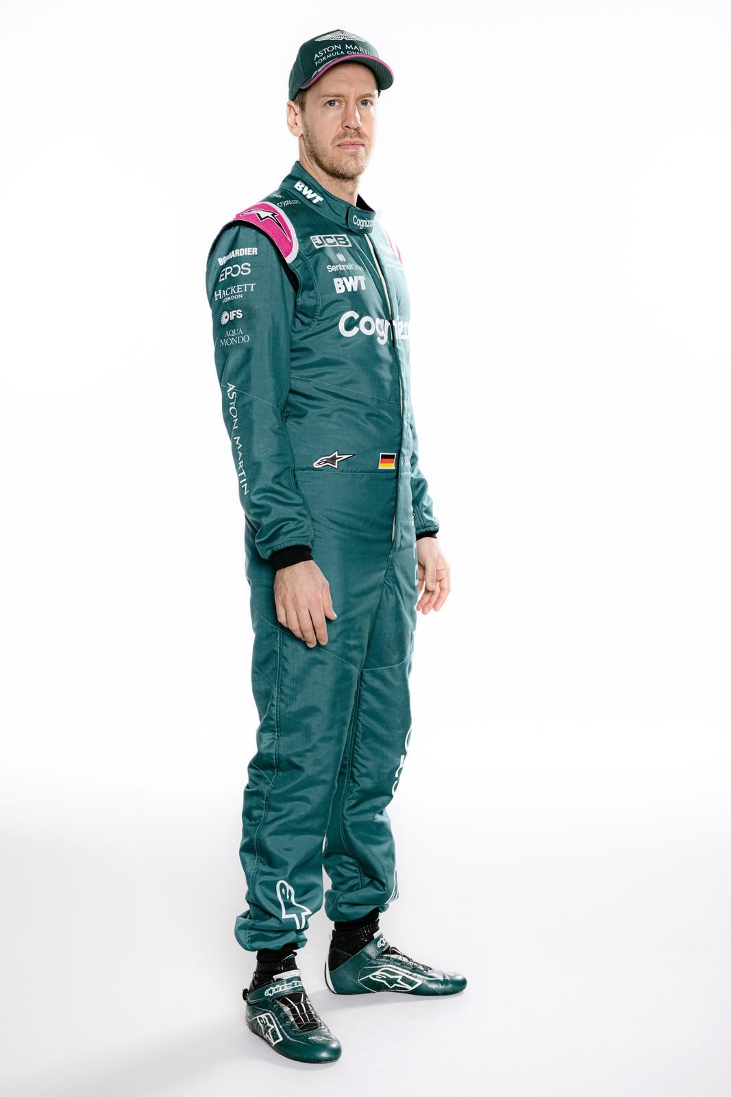 Aston Martin F1 Driver Studio Shoot