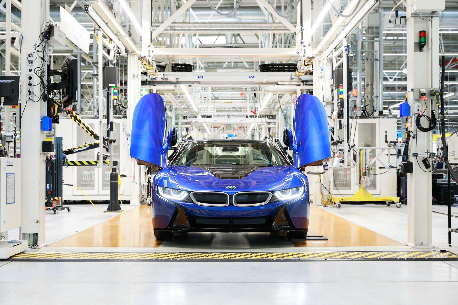 Der letzte BMW i8 aus dem BMW Group Werk Leipzig