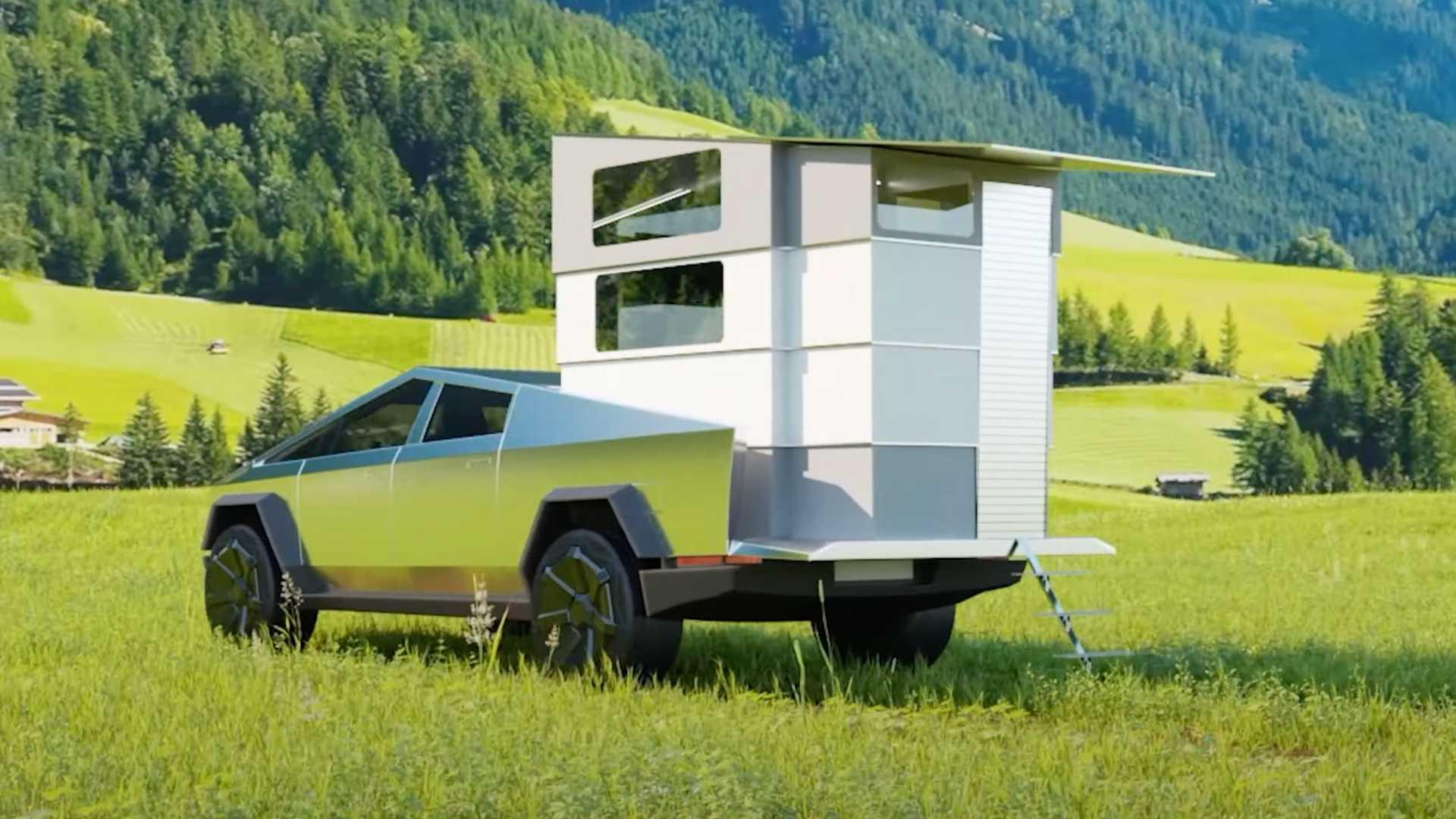 CyberLandr-Camper-For-Tesla-Cybertruck-1