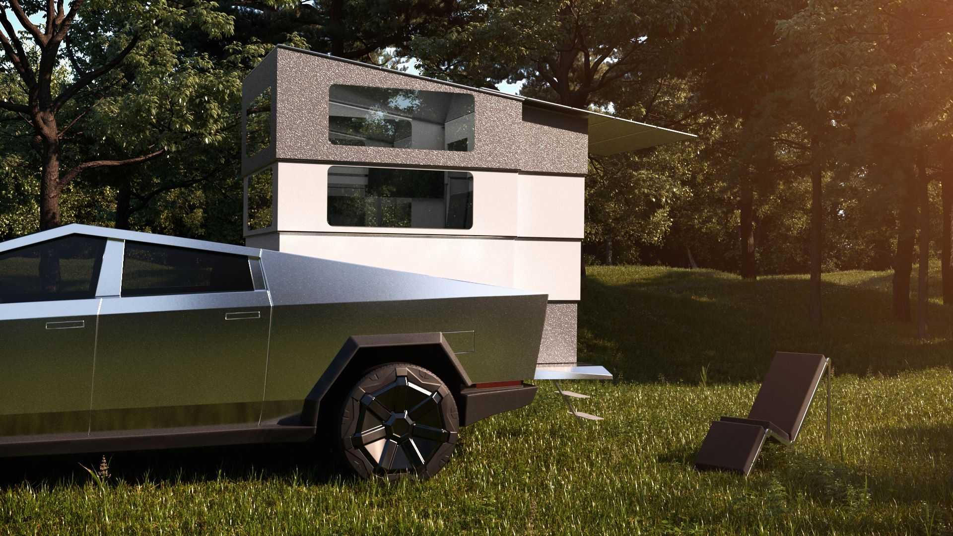 CyberLandr-Camper-For-Tesla-Cybertruck-12