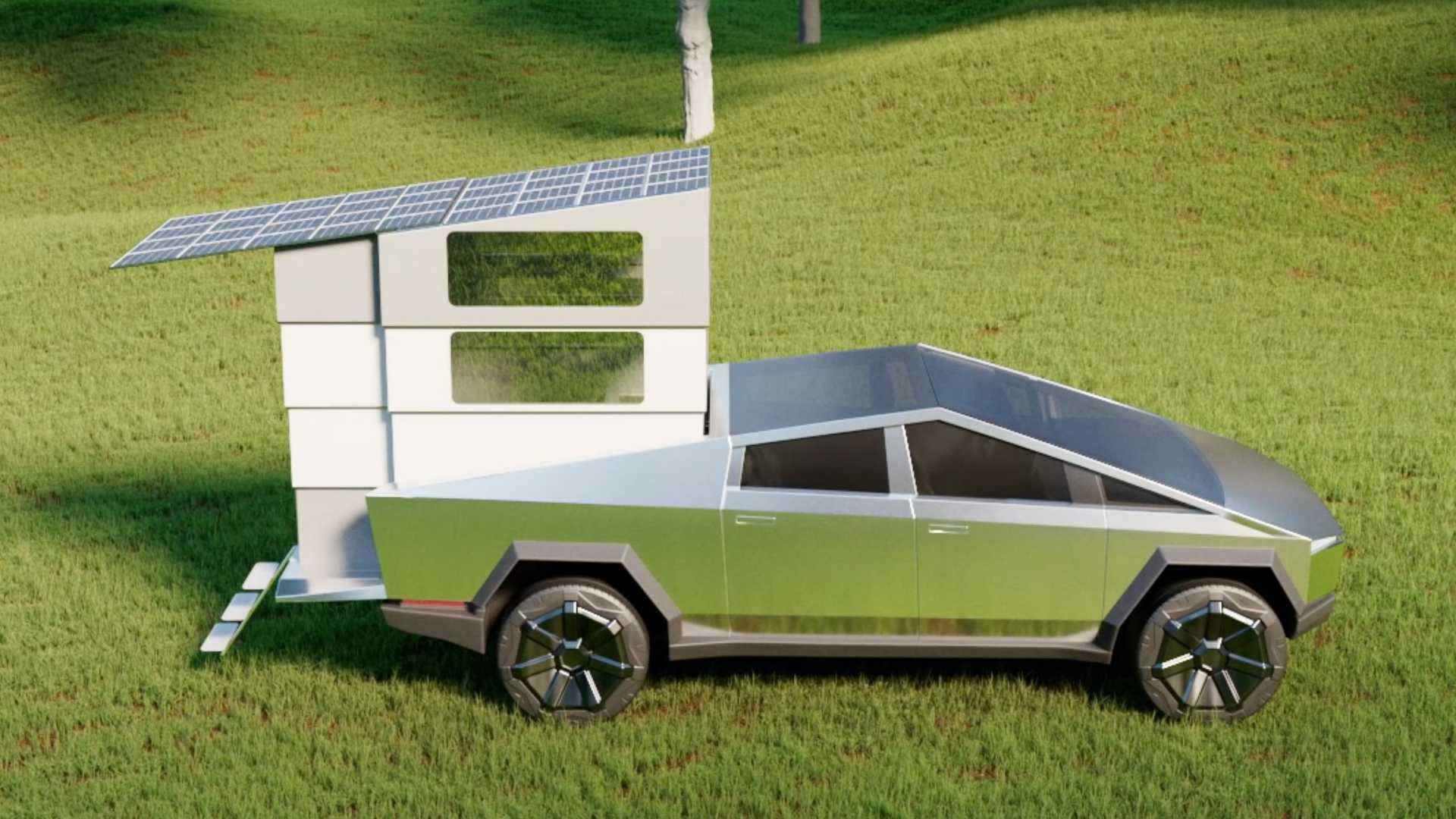 CyberLandr-Camper-For-Tesla-Cybertruck-4