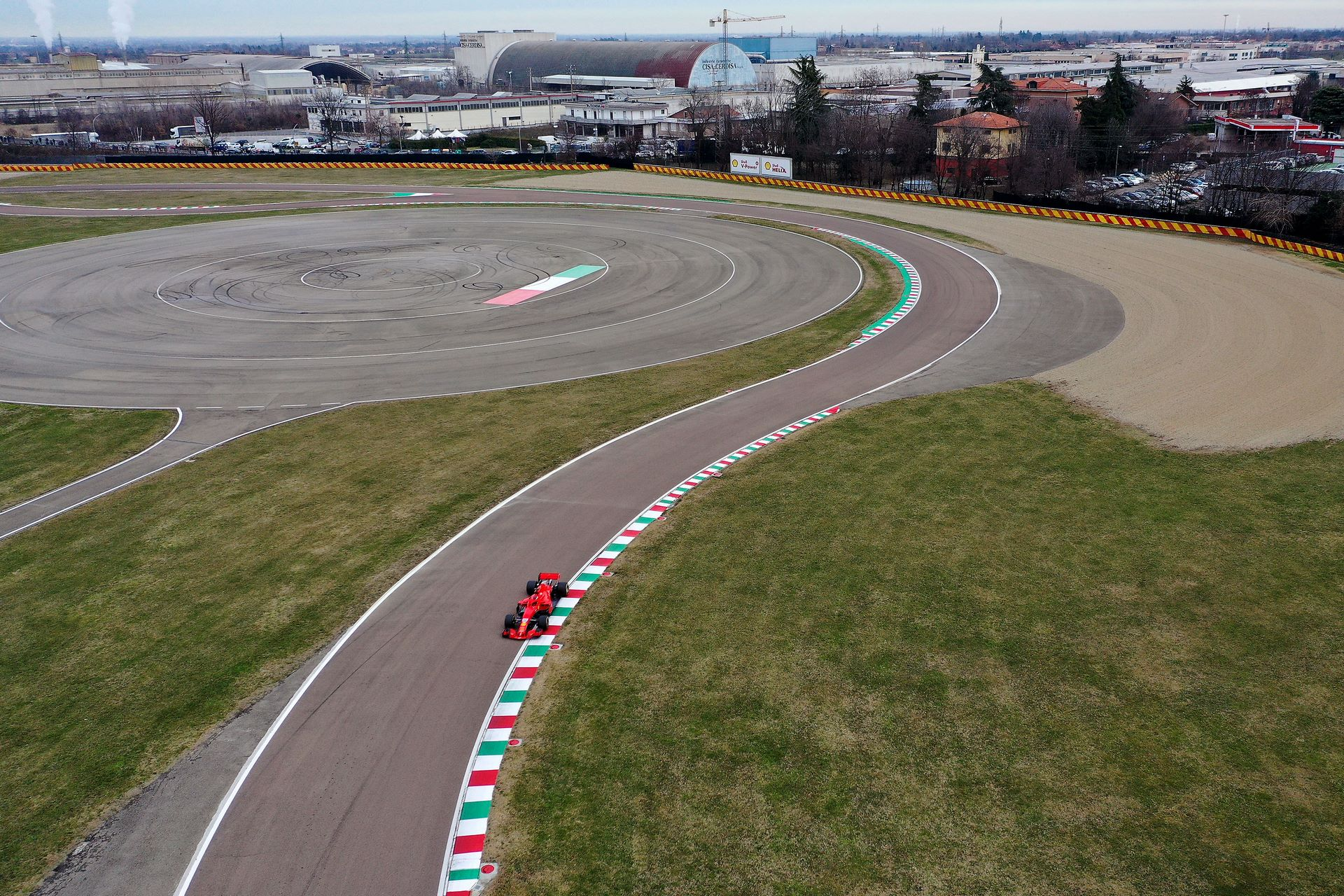 F1 TEST FIORANO - MERCOLEDì  27/01/21