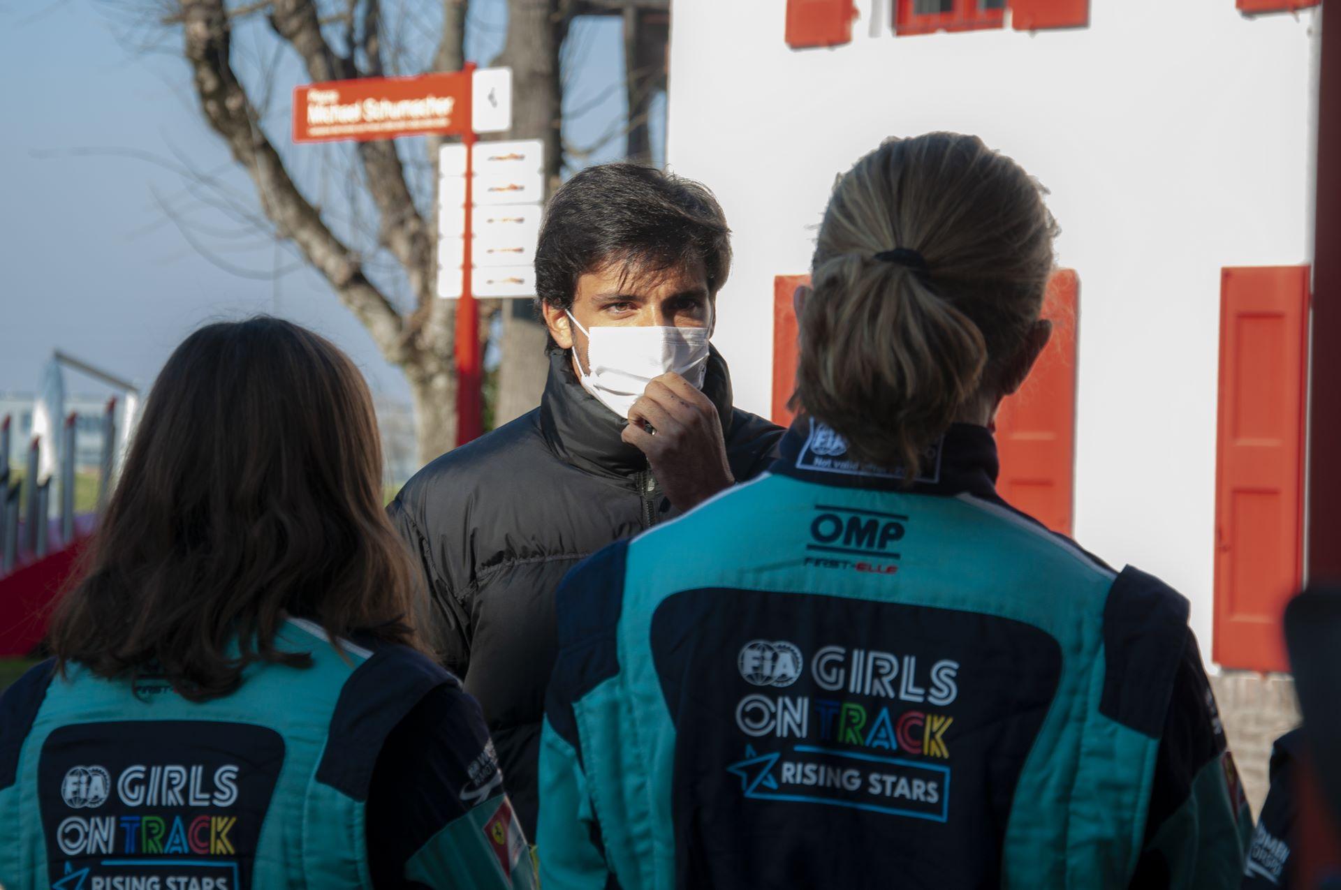 FDA CAMP GIRLS ON TRACK - FIORANO 14-15/01/2021