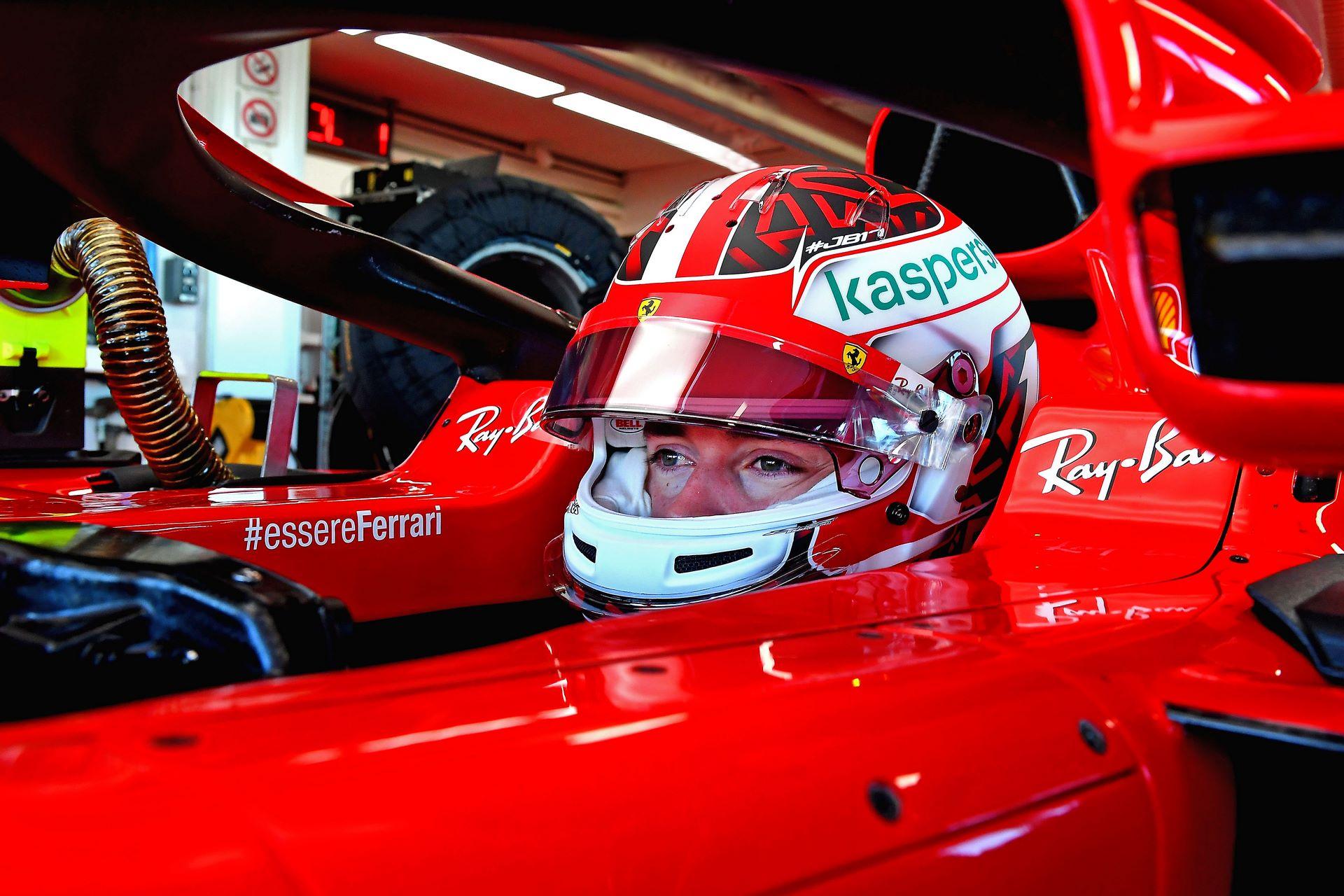 F1 TEST FIORANO - MARTEDì 26/01/21 - CHARLES LECLERC