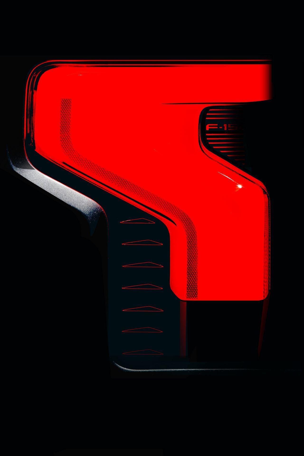 F-150 Lightning Taillamp Sketch 1