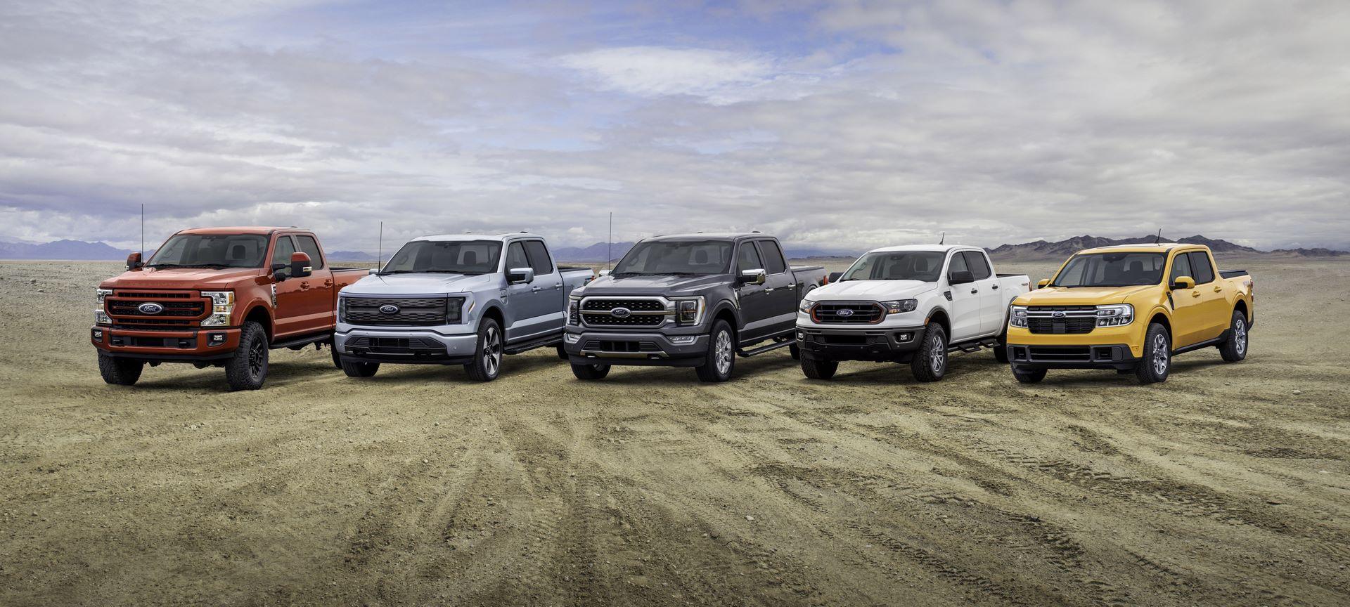 Built Ford Tough Truck Lineup