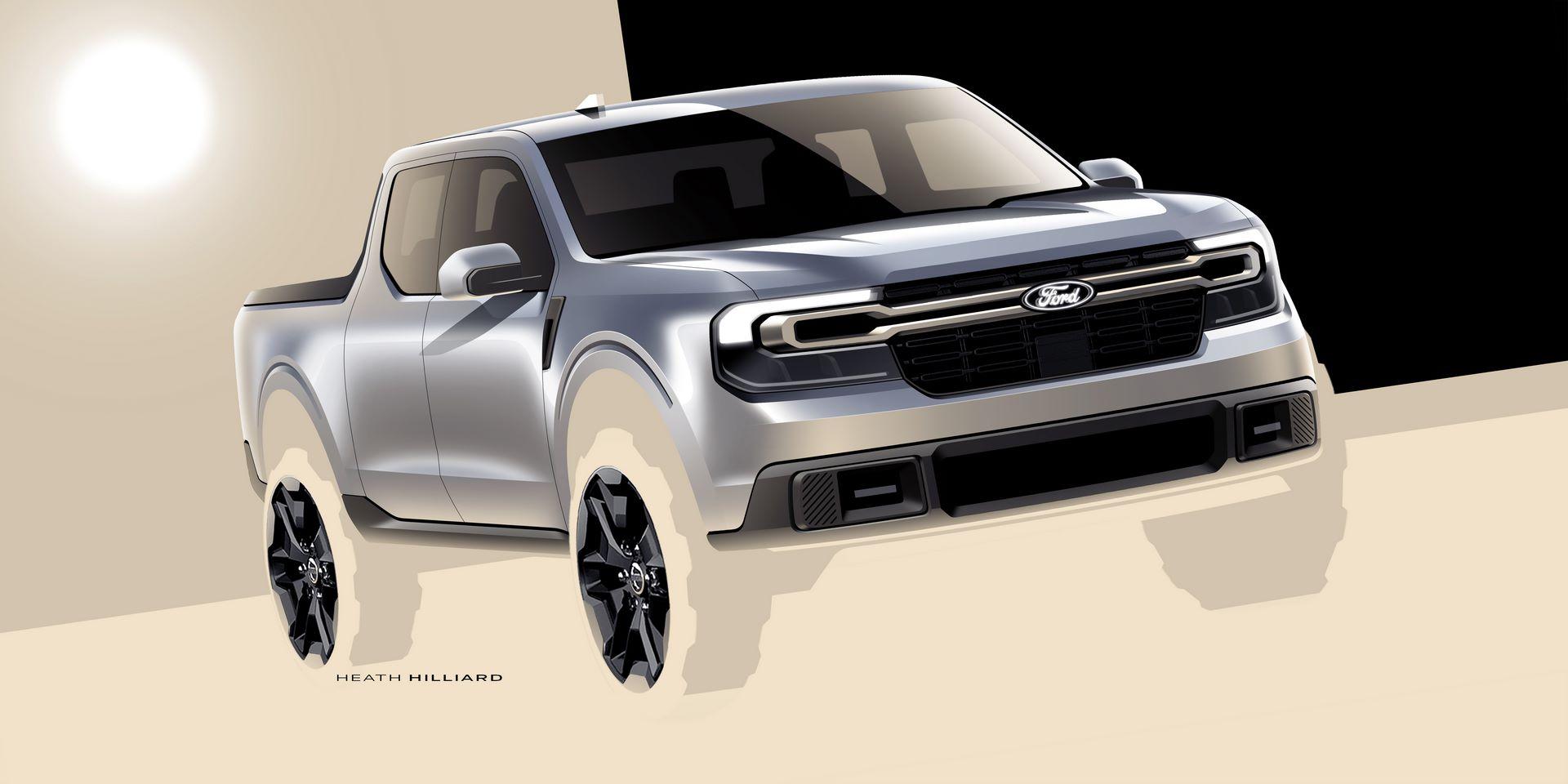 Ford Maverick Design Sketch