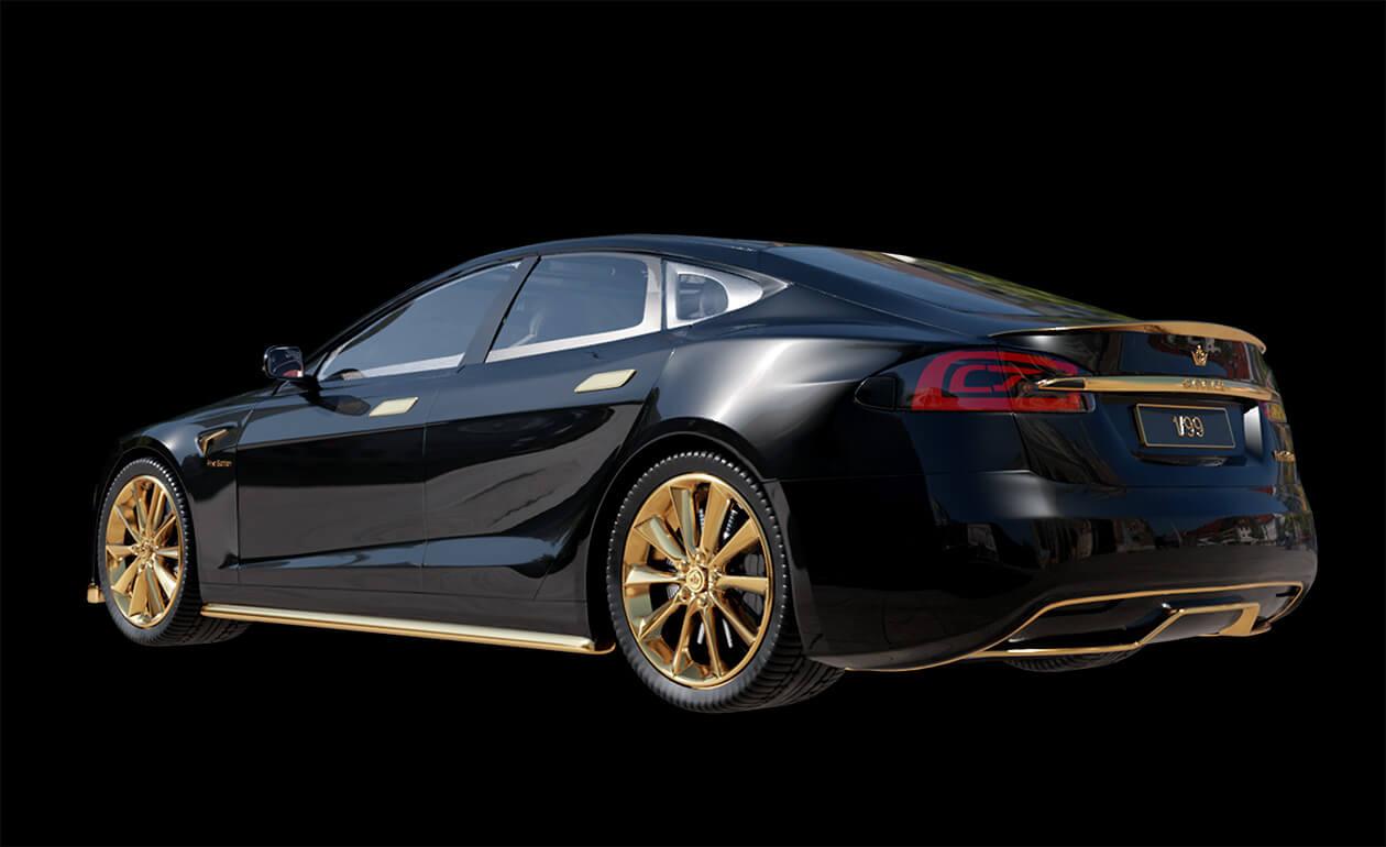 Gold-Tesla-Model-S-Plaid-Caviar-Model-Excellence-24K-4