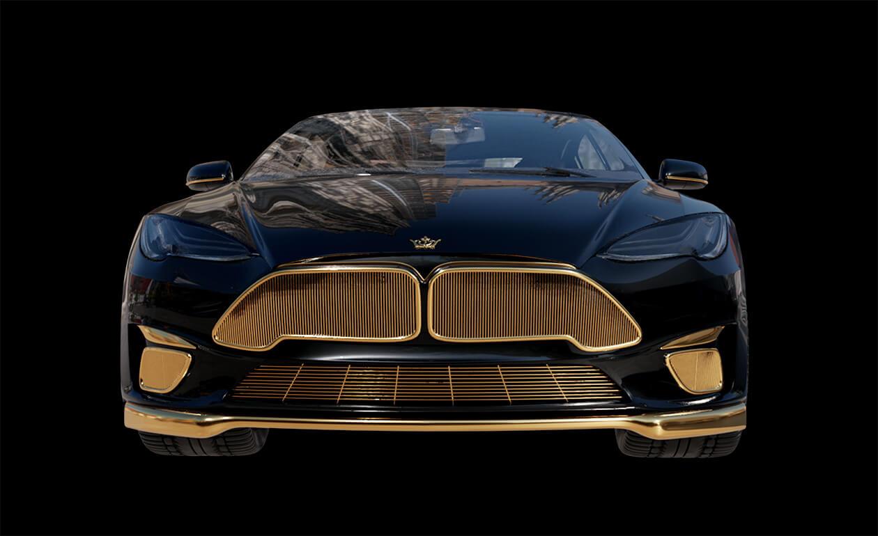 Gold-Tesla-Model-S-Plaid-Caviar-Model-Excellence-24K-6
