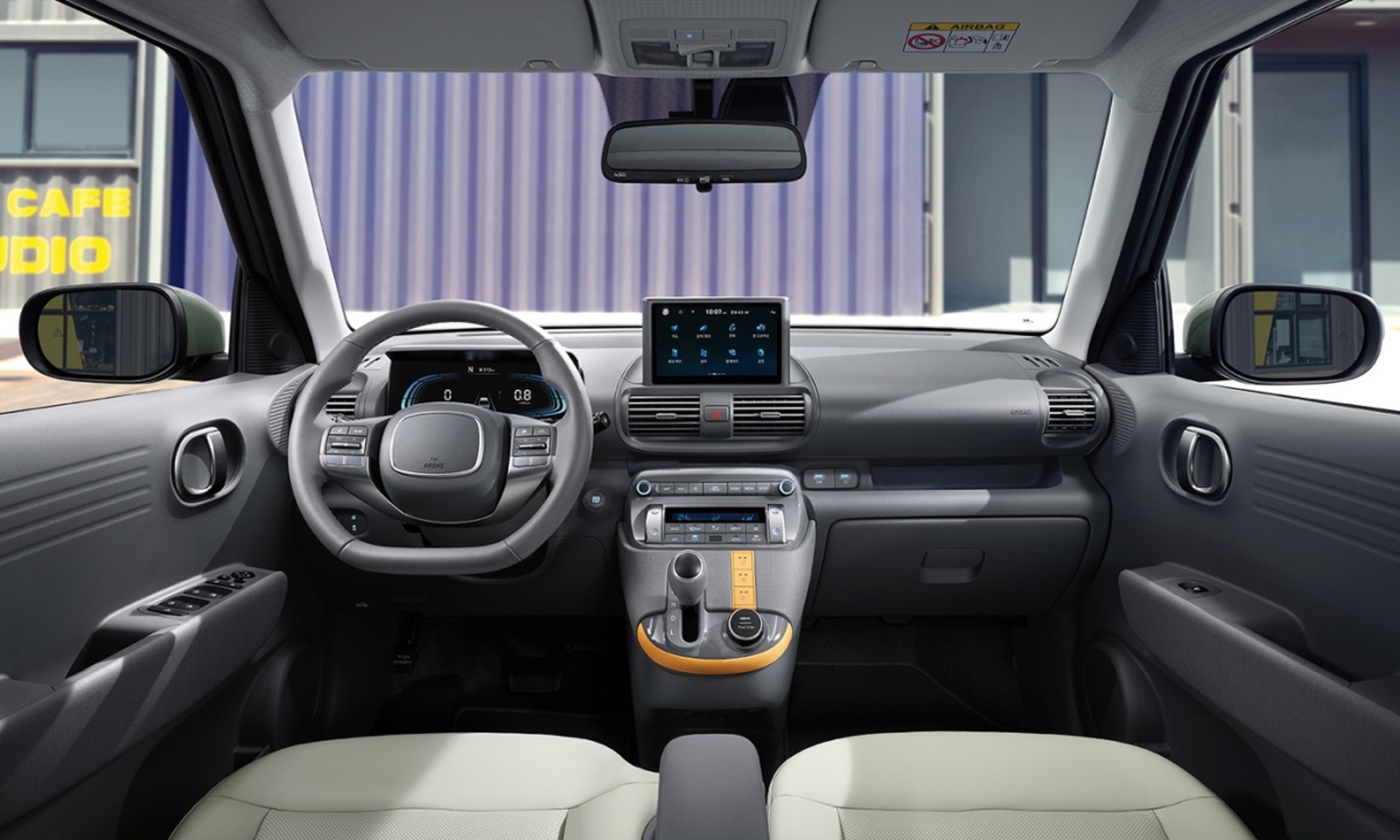 Hyundai Casper interior and key standard features officially revealed