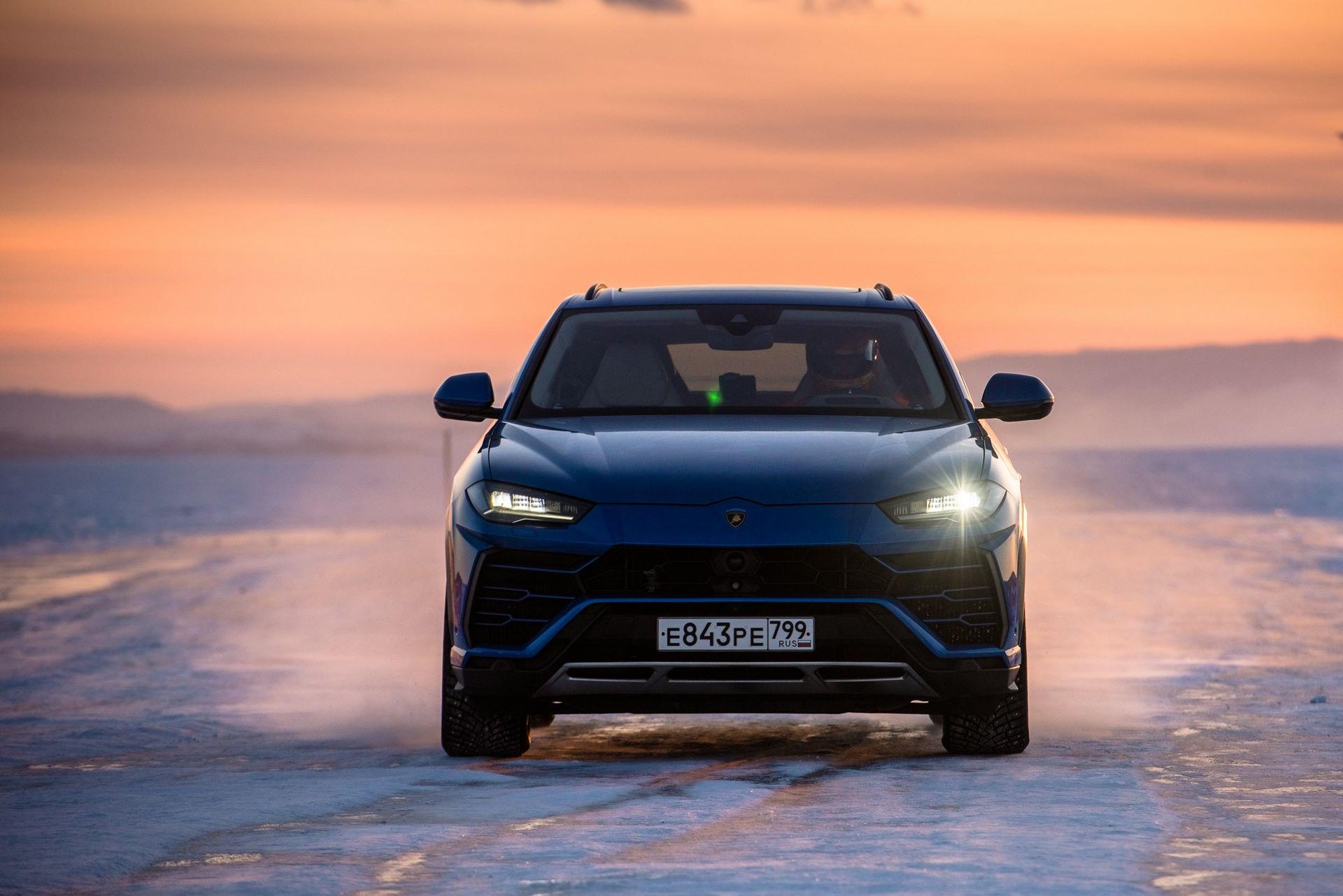Lamborghini-Urus-Ice-Speed-Record-1