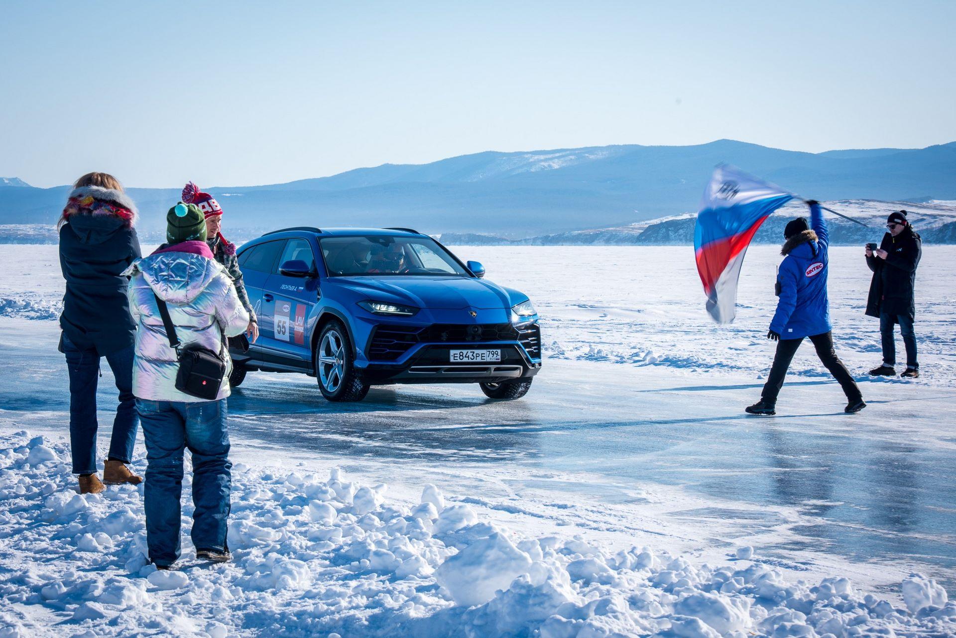 Lamborghini-Urus-Ice-Speed-Record-3