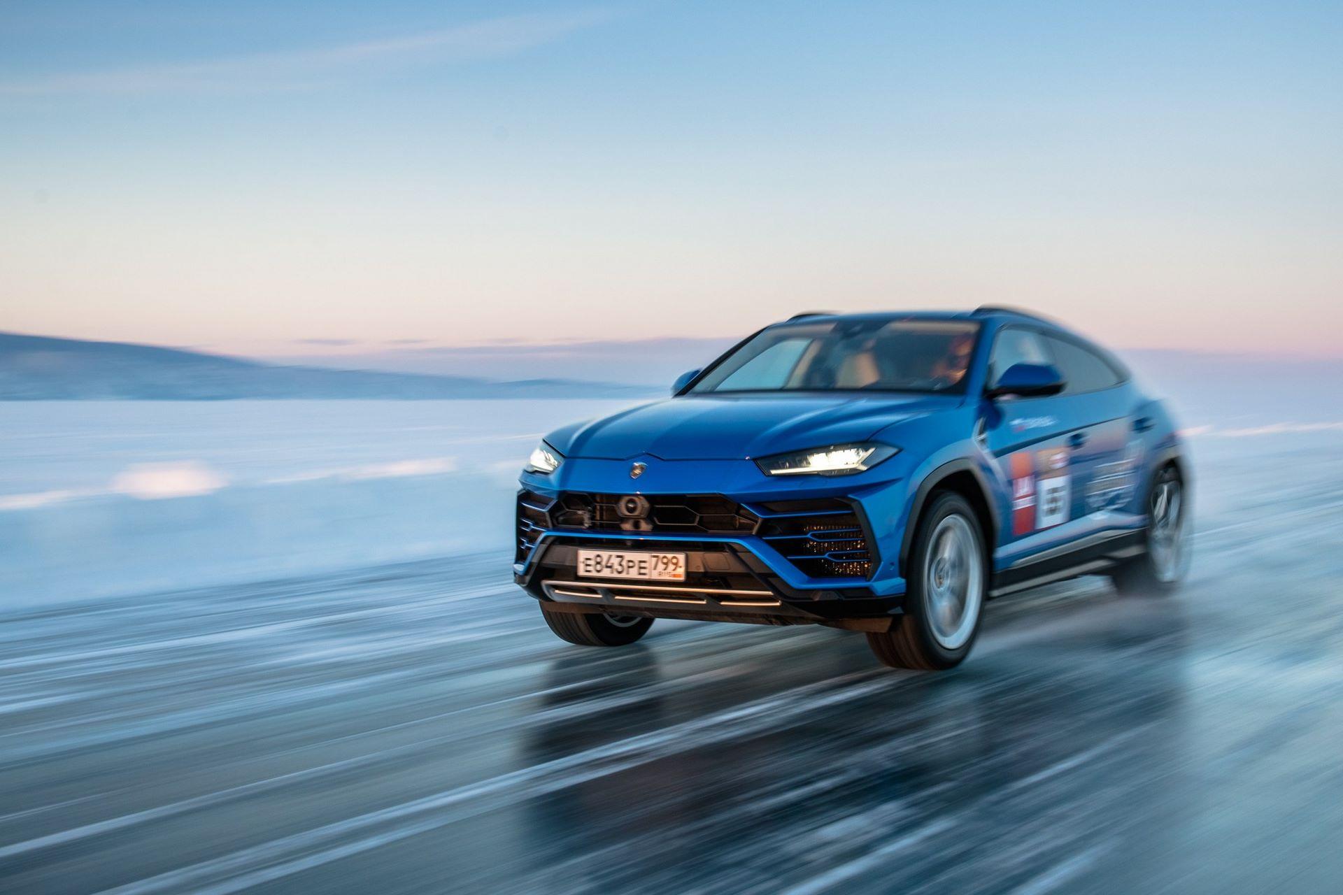 Lamborghini-Urus-Ice-Speed-Record-4