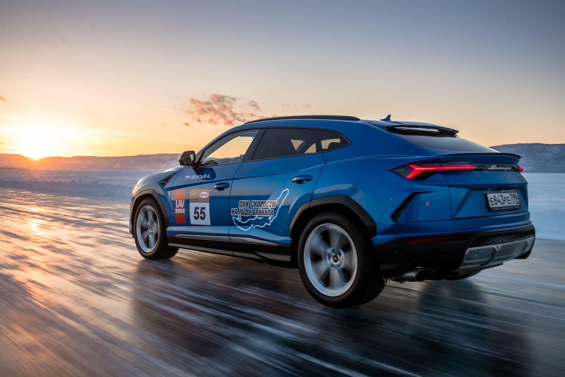 Lamborghini-Urus-Ice-Speed-Record-6