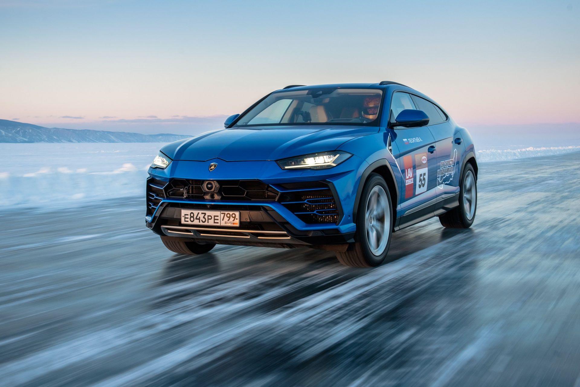 Lamborghini-Urus-Ice-Speed-Record-7