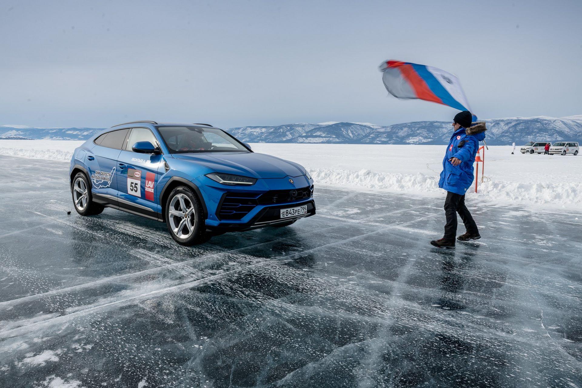 Lamborghini-Urus-Ice-Speed-Record-8