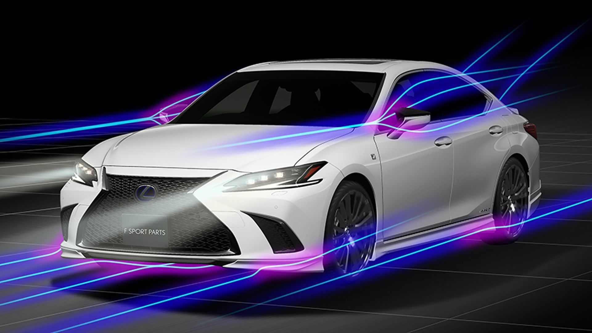 Lexus-ES-facelift-with-TRD-Parts-1