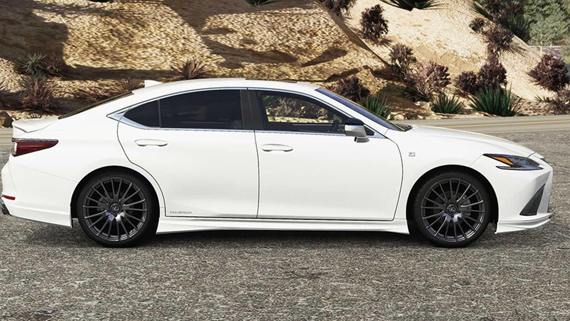 Lexus-ES-facelift-with-TRD-Parts-8