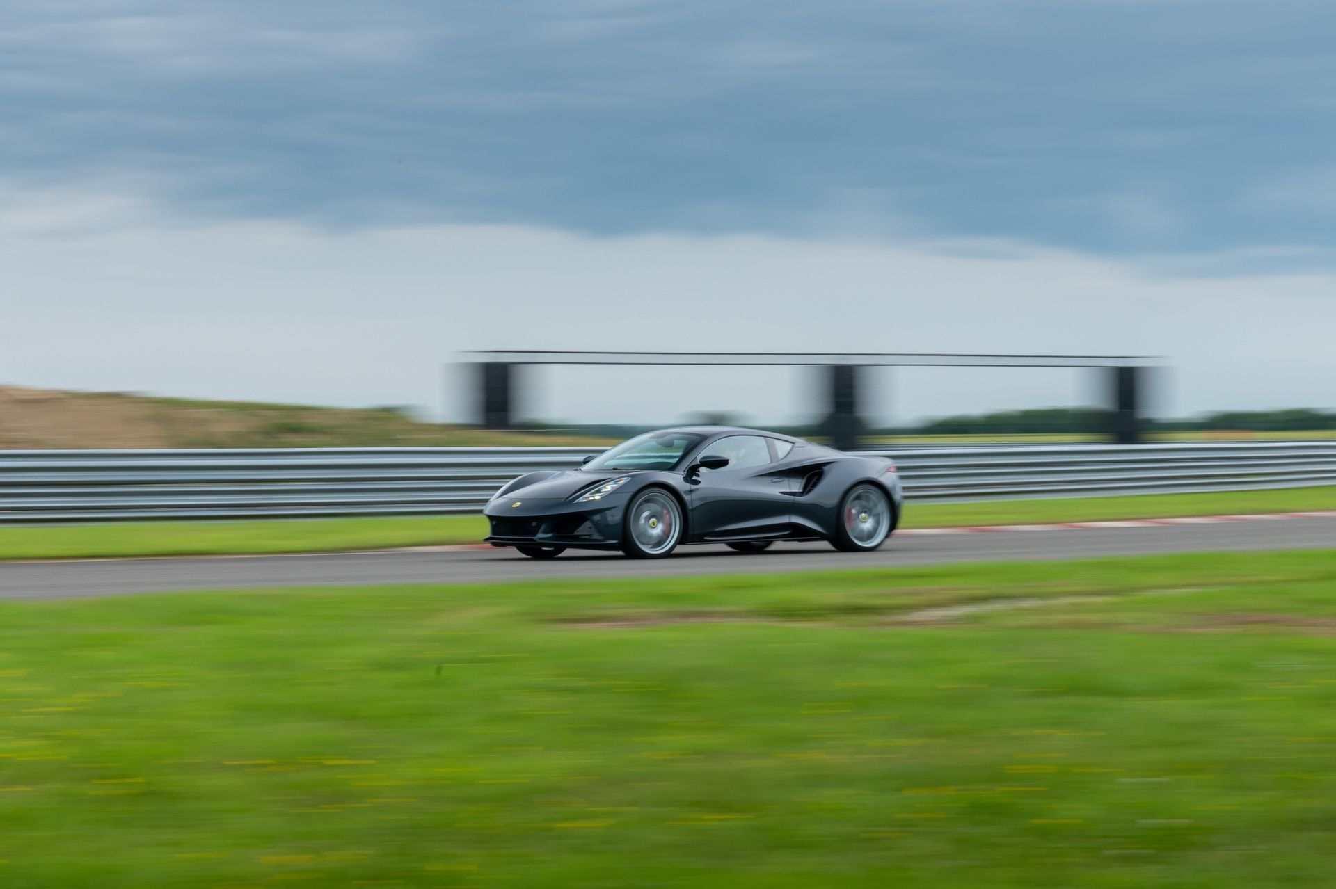 Lotus-Emira-on-Hethel-test-track