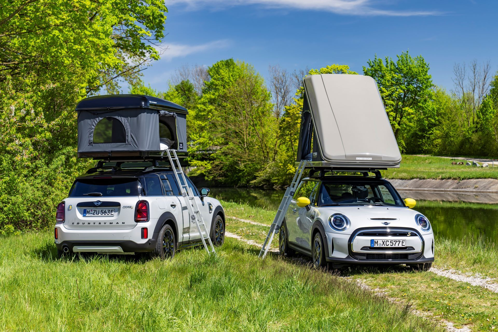 Mini-Cooper-Countryman-All4-Rooftop-Tents-1